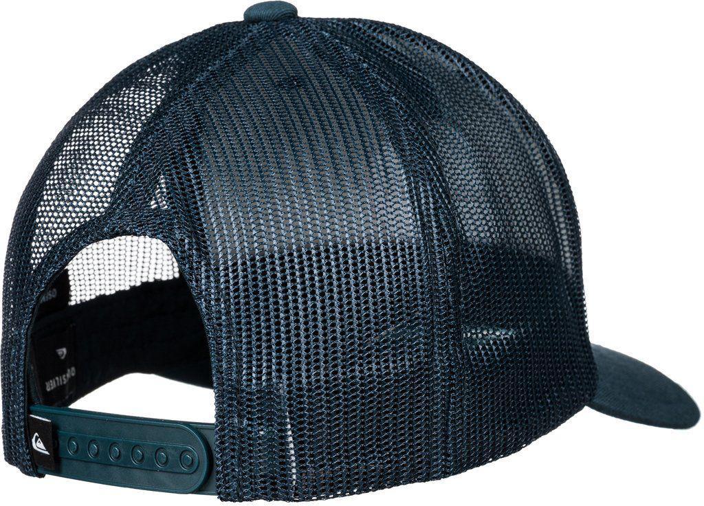 cdae20ae Quiksilver Dunbar Trucker Hat in Blue for Men - Lyst