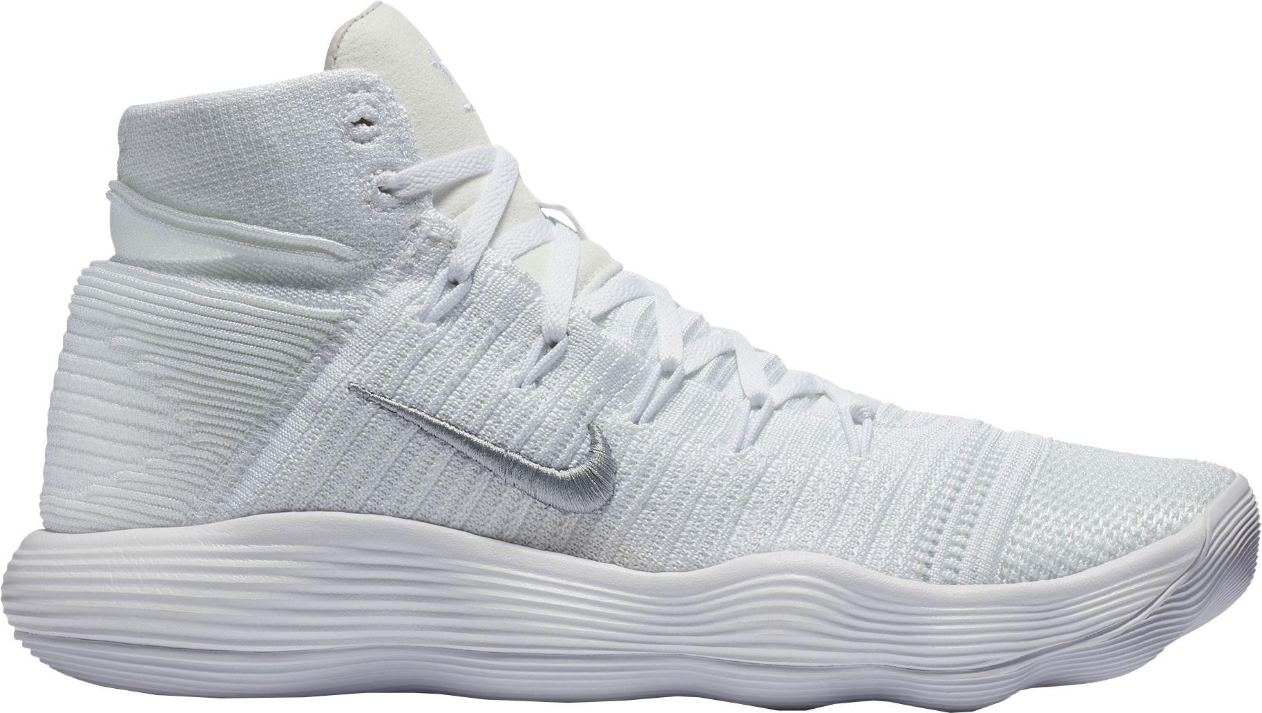 8a509a4f0fcc7 Nike - White React Hyperdunk 2017 Flyknit Basketball Shoes for Men - Lyst