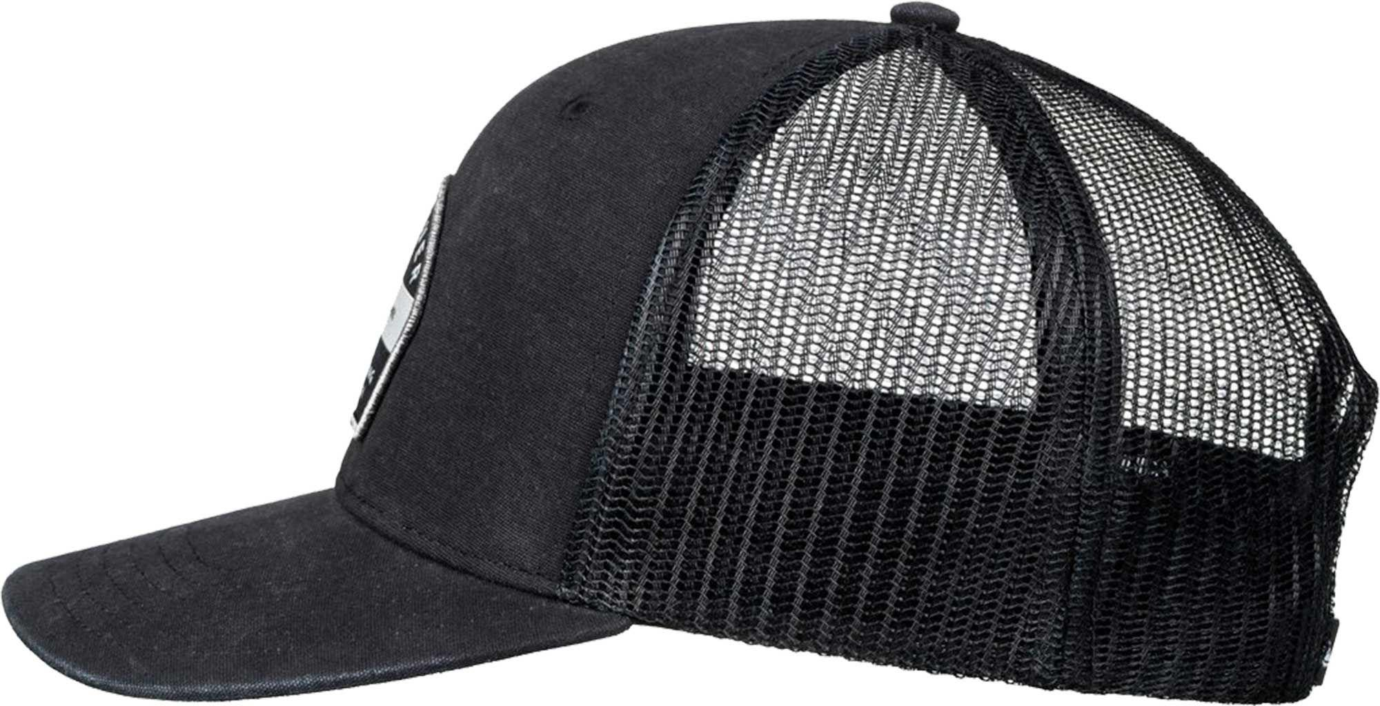 e9abe4378c7 ... italy lyst quiksilver quicksilver silver lining trucker hat in black  for men 7c651 06691