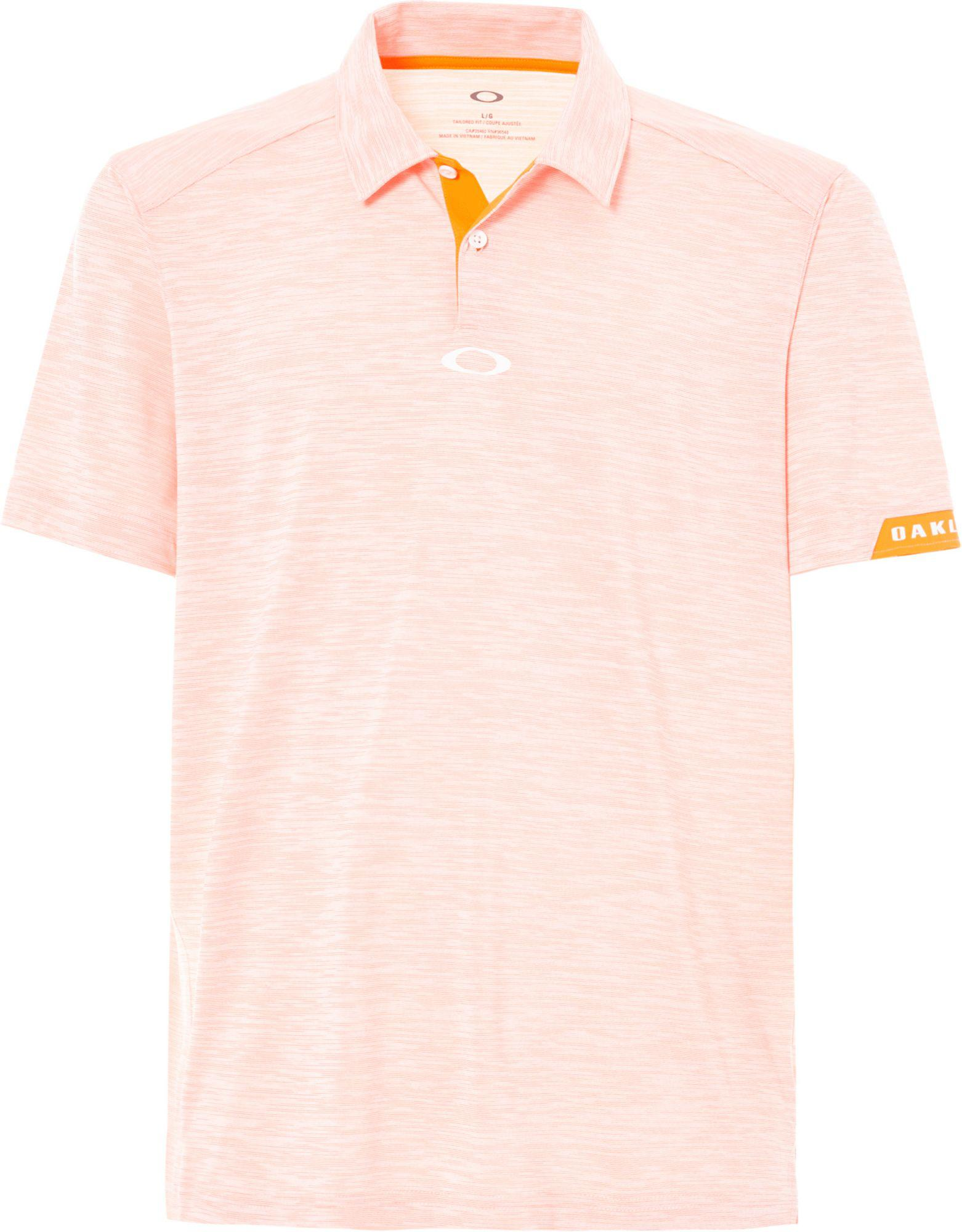 2e964d1adf Lyst - Oakley Gravity Golf Polo in Pink for Men