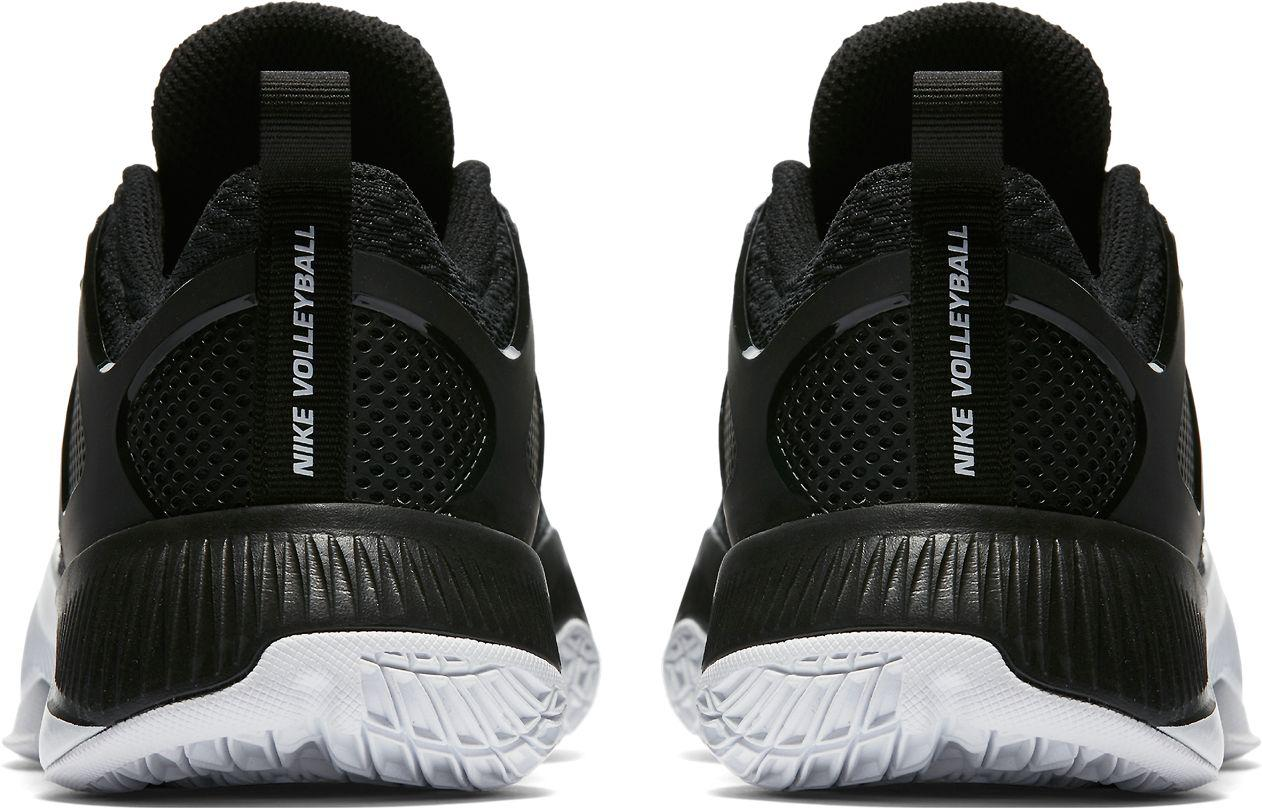 7c5be4e2b51a9 ... clearance nike black air zoom hyperace volleyball shoes lyst a4e36 ad1ce