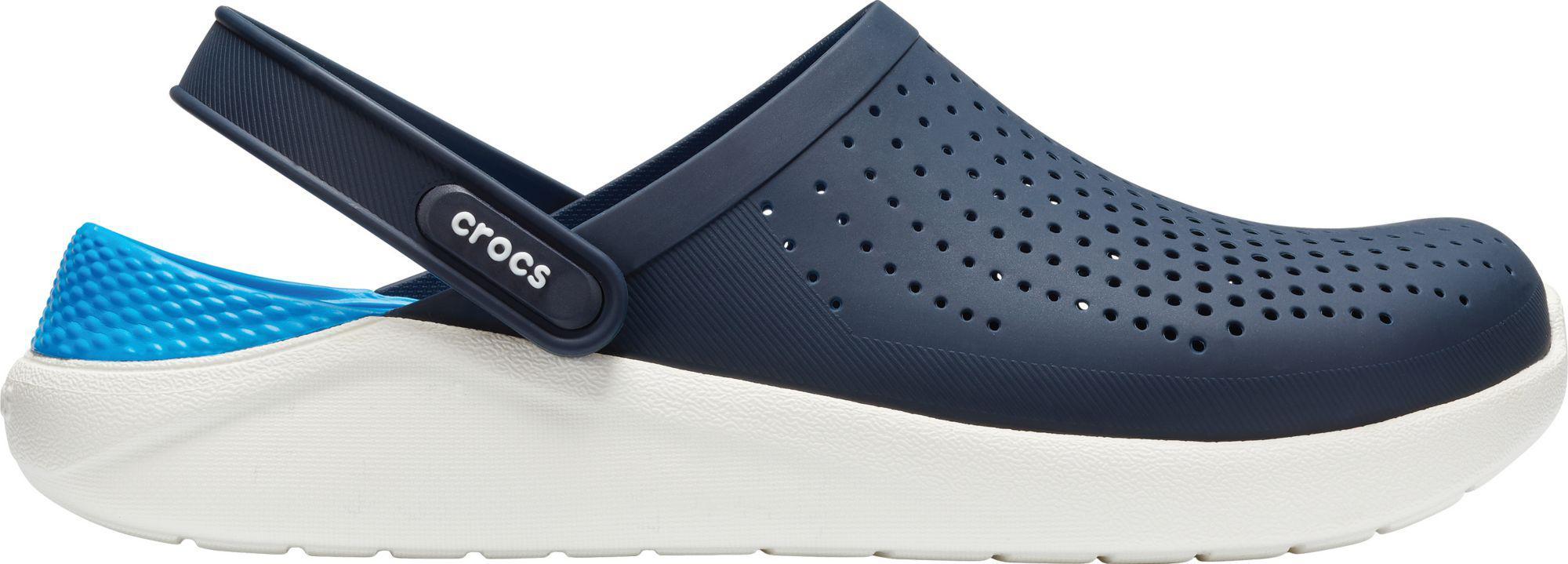 98b2e246b146 Lyst - Crocs™ Adult Literide Clogs in Blue