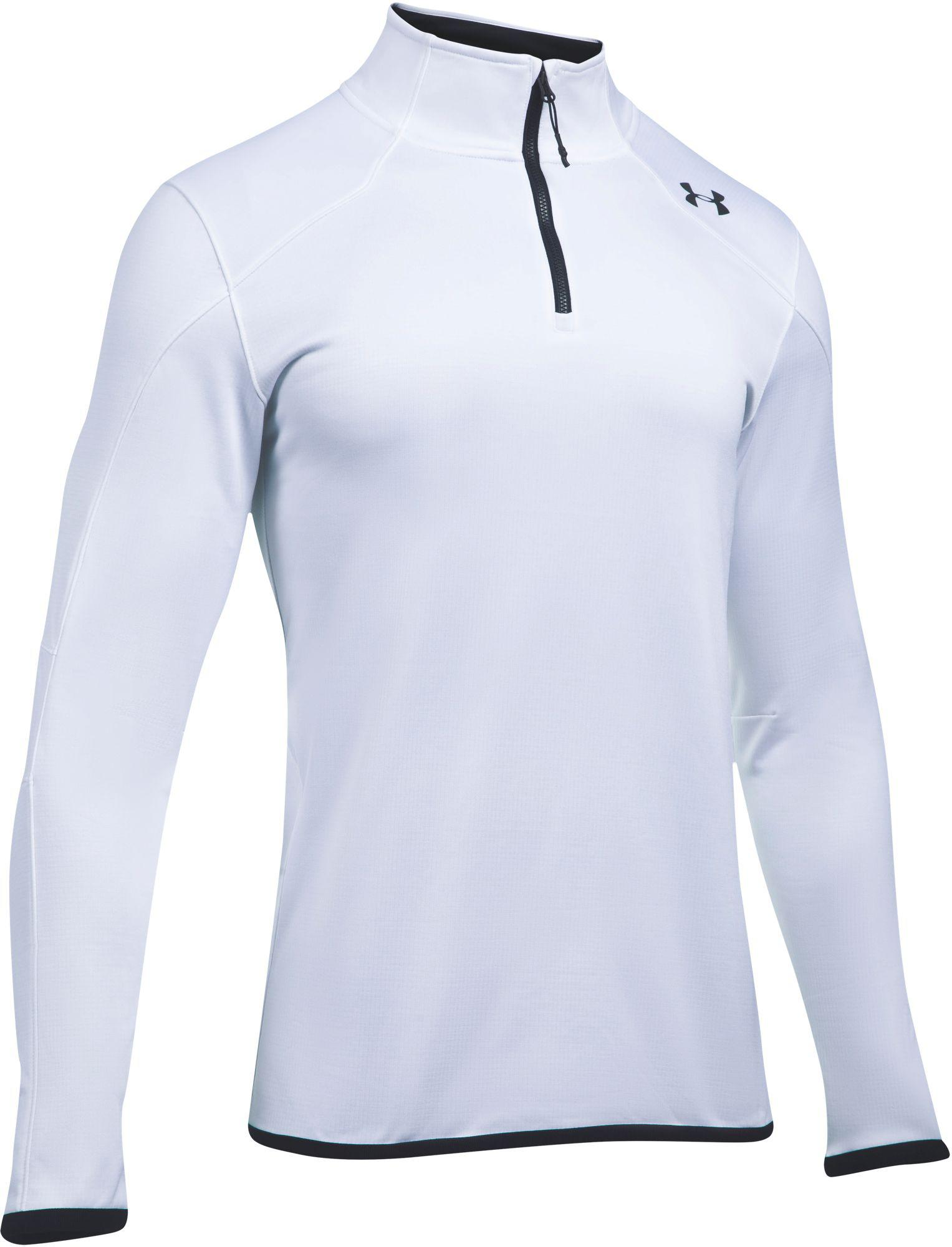Lyst - Under Armour Coldgear Reactor 1 4 Zip Long Sleeve T-shirt in ... 6a9b04fd4
