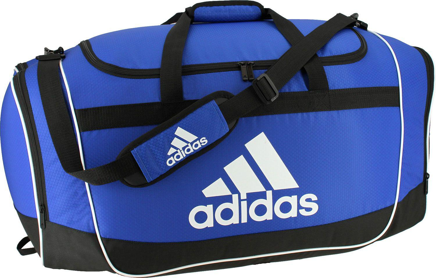 Lyst - adidas Defender Ii Large Duffle Bag in Blue for Men 2419788d5932e