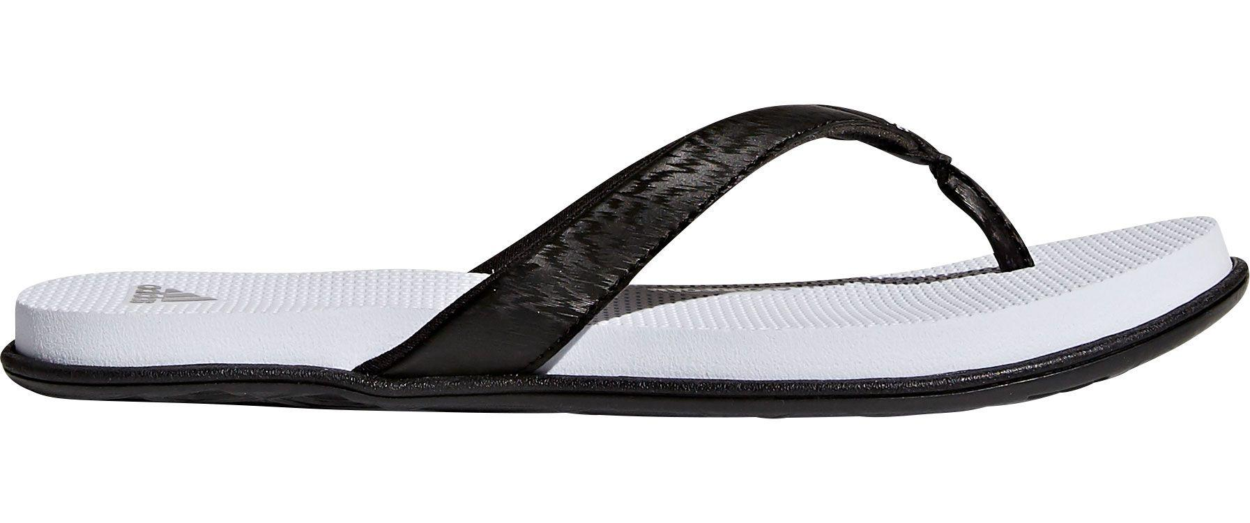 be7385114 Lyst - adidas Cloudfoam One Thong Sandals in Black