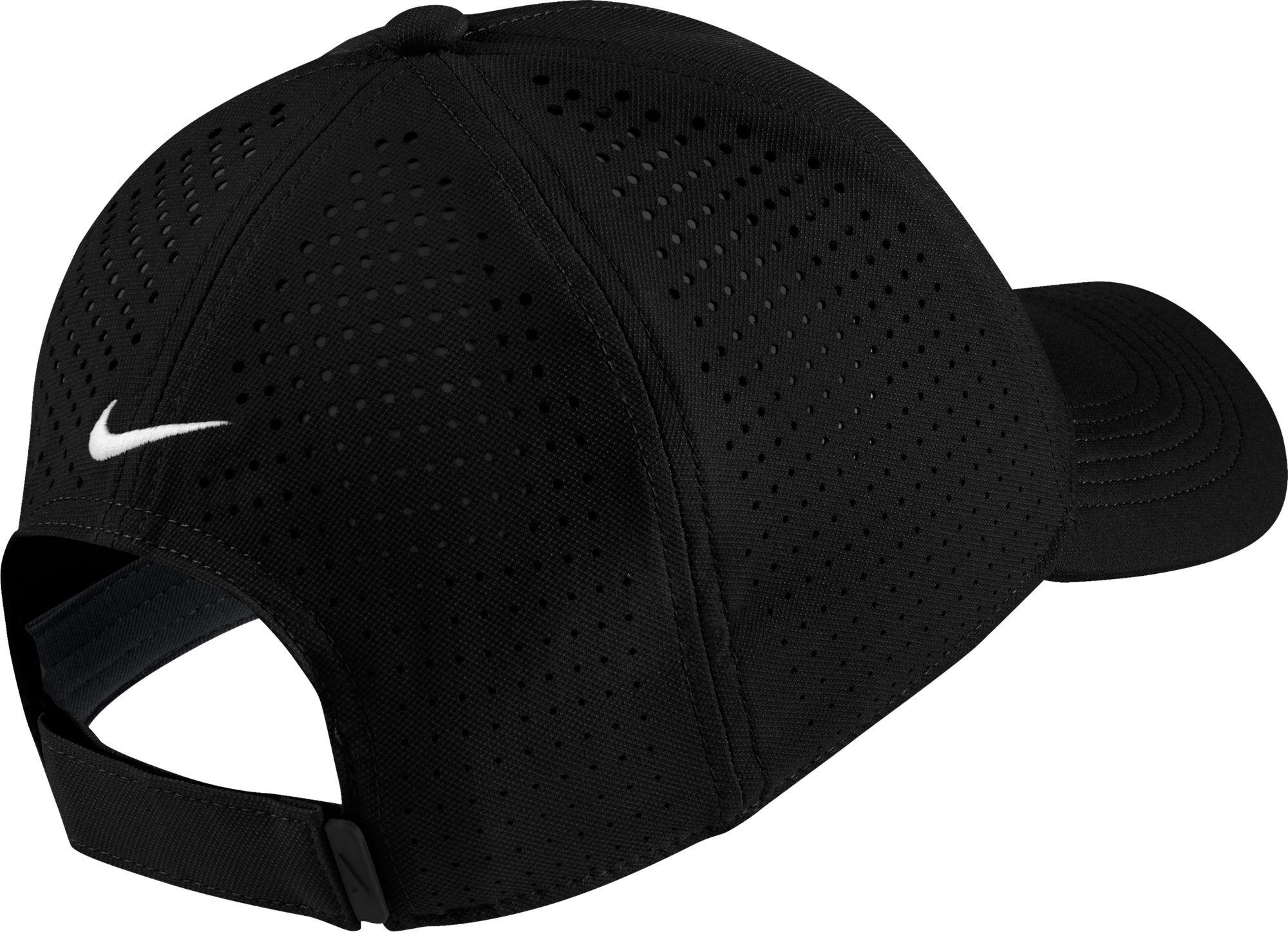 Nike - Black Aerobill Legacy91 Perforated Golf Hat for Men - Lyst. View  fullscreen 1daf62b134e