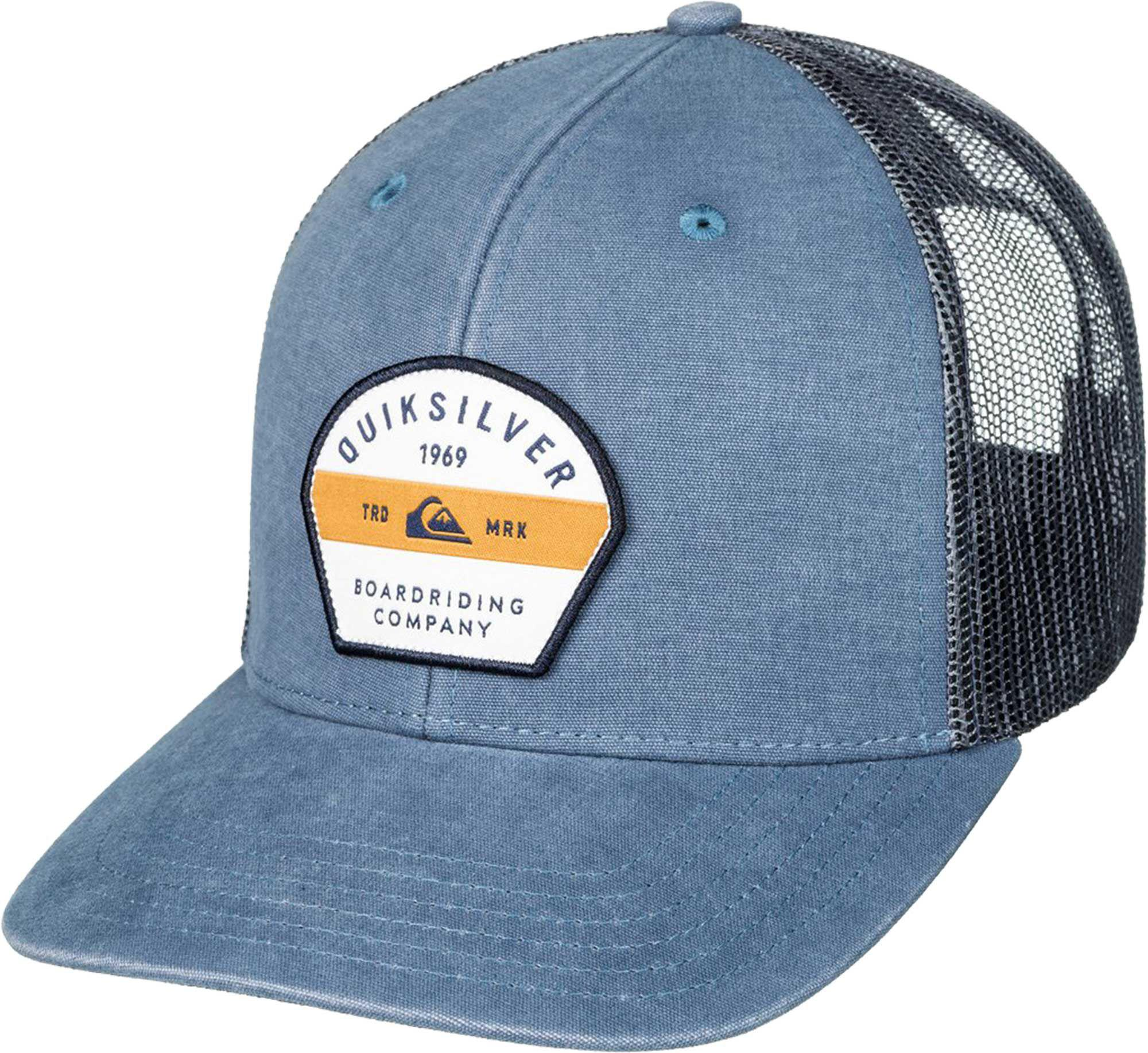 on sale fc1a0 4465f ... ebay lyst quiksilver quicksilver silver lining trucker hat in blue for  men 54d1f 292e0