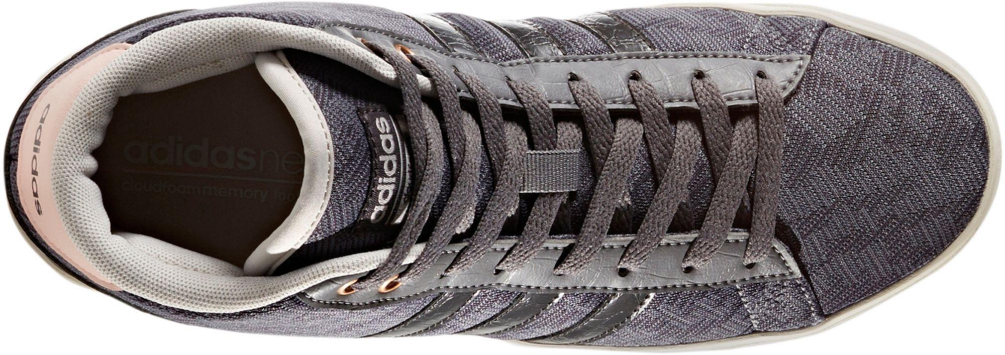 buy popular 7e58f c8afb Lyst - adidas Originals Cloudfoam Daily Qt Mid Shoes in Gray