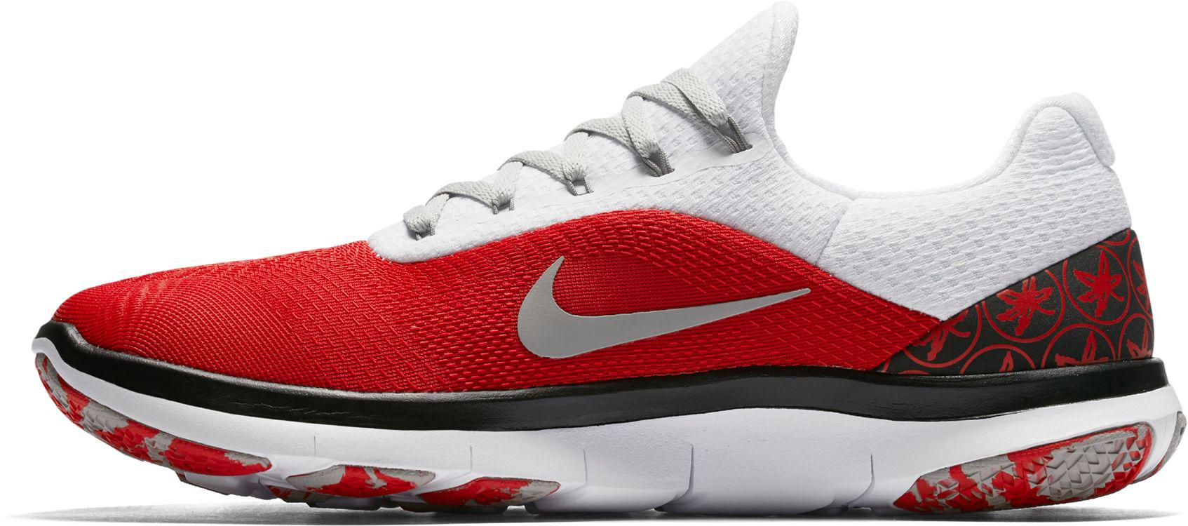 38dc07f21e Nike - Red Free Trainer V7 Week Zero Ohio State Edition Training Shoes for  Men -