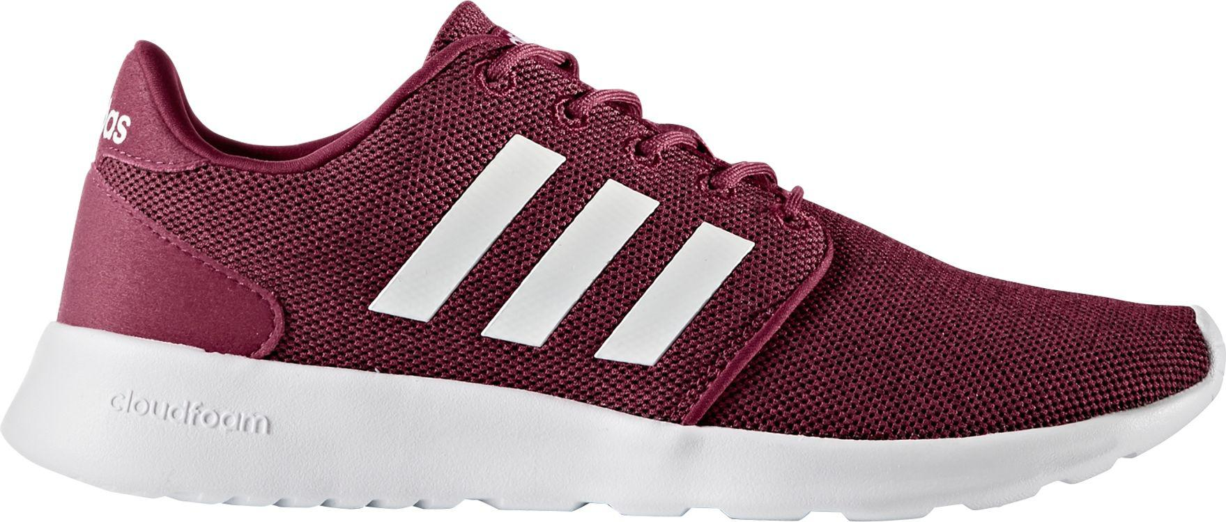 adidas cloudfoam red and white