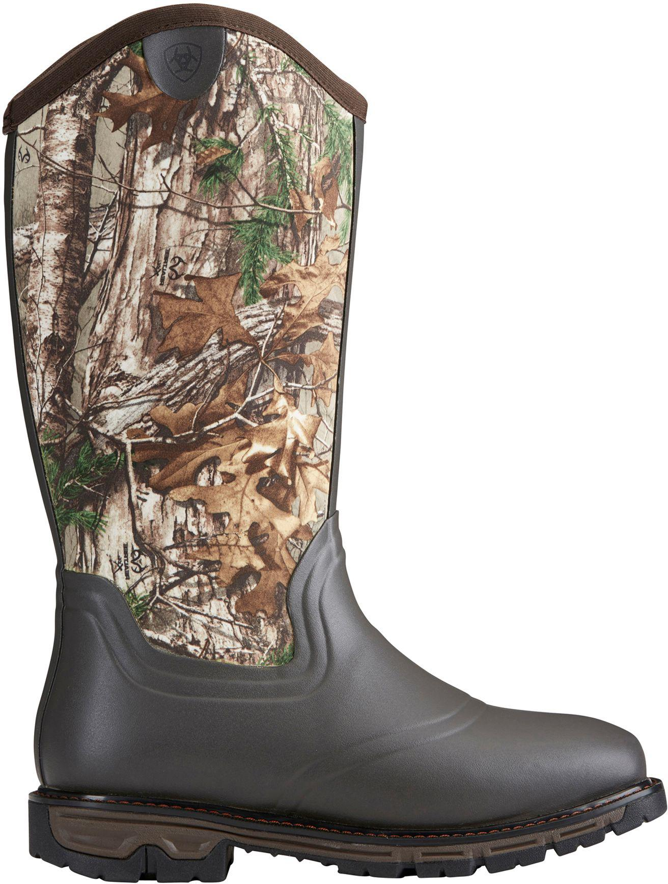 Ariat Conquest Wide Square Toe Insulated Hiking Boot(Men's) -Dark Brown Rubber/Neoprene Cheap Lowest Price Best Place Online Outlet Online Visit New Cheap Online uxJKpxxaYr