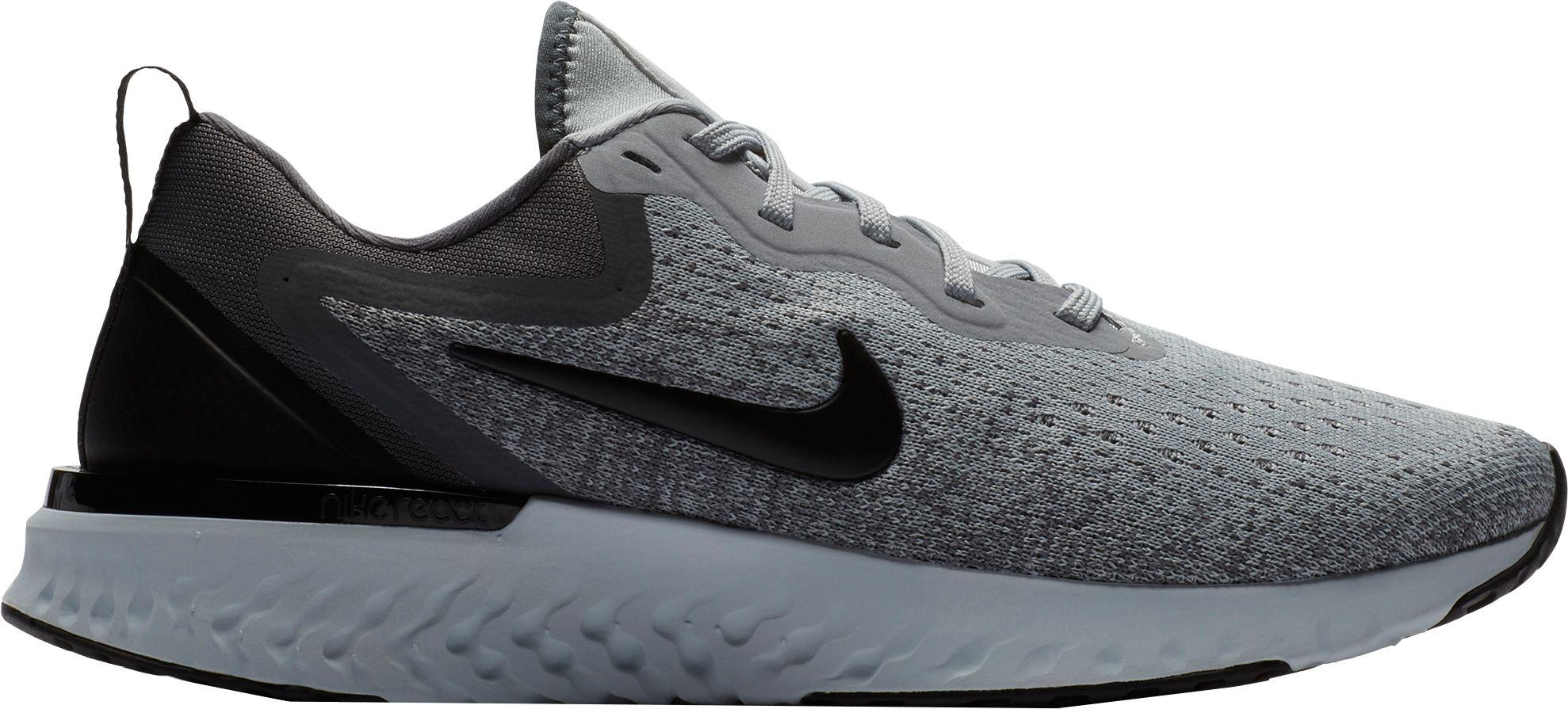 Nike. Women's Gray Odyssey React Running Sneakers