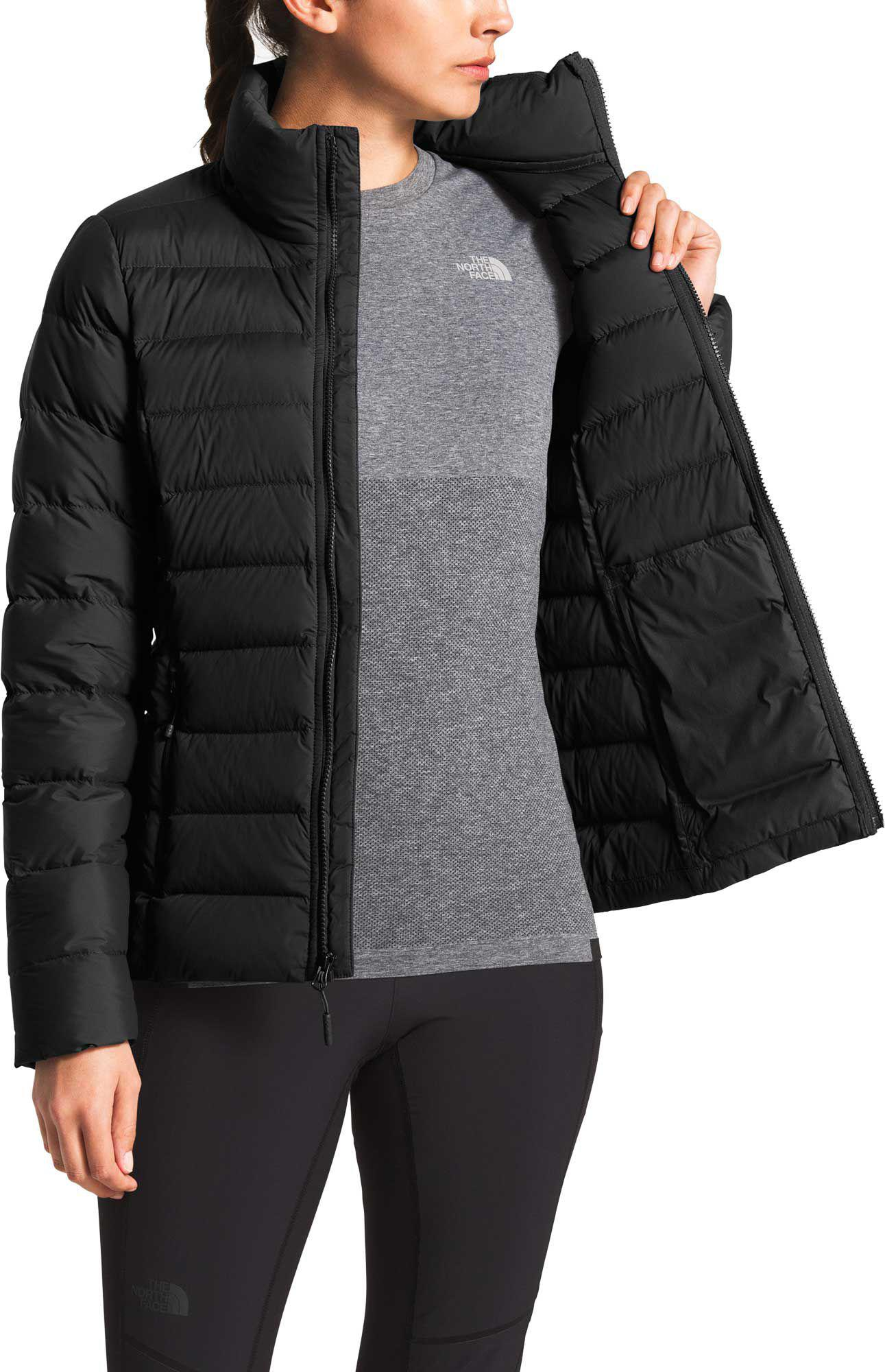 The North Face - Black Stretch Down Jacket - Lyst. View fullscreen a36cd20e1