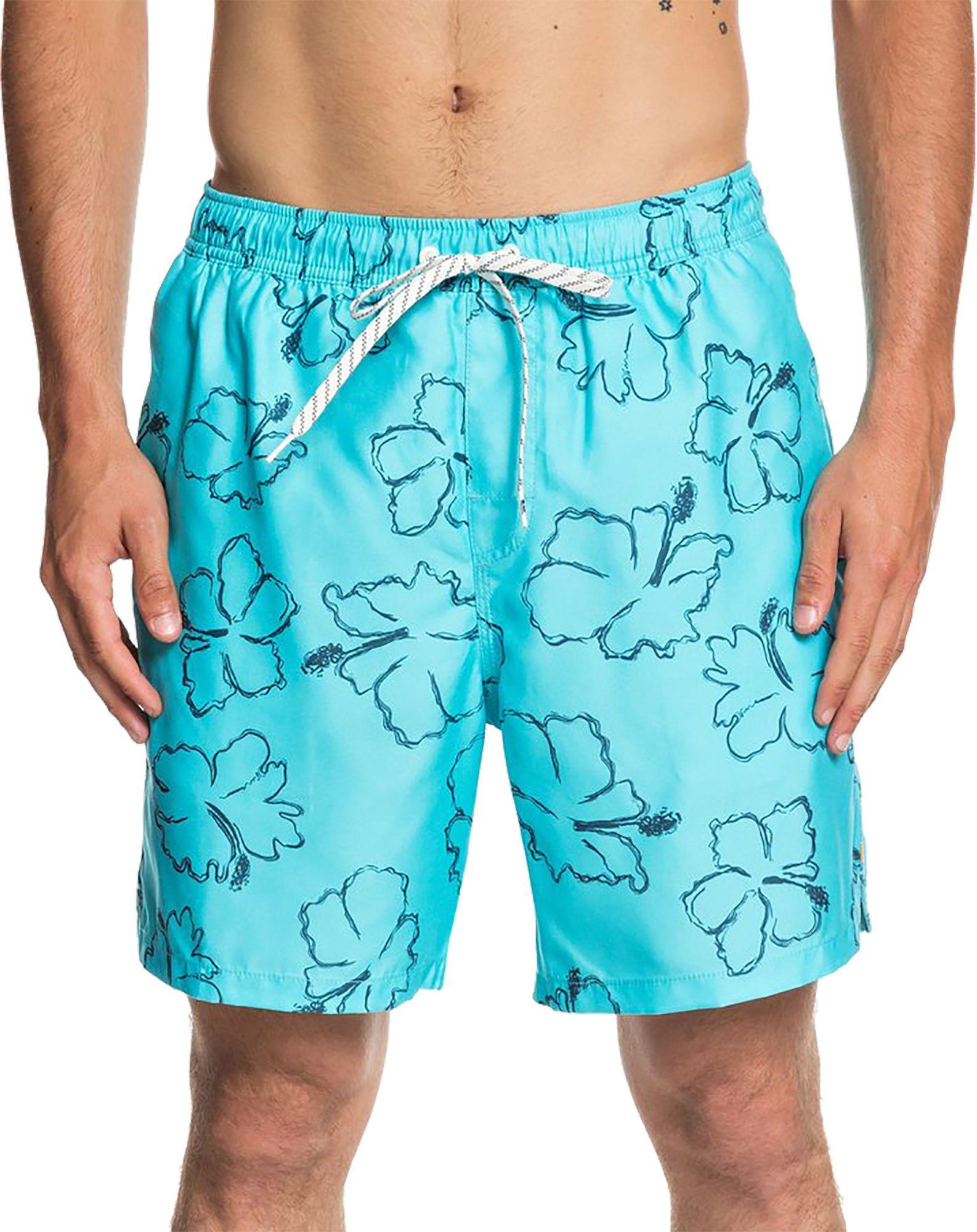 74bd579156 Lyst - Quiksilver Waterman Seasick Hilo Volley Board Shorts in Blue ...