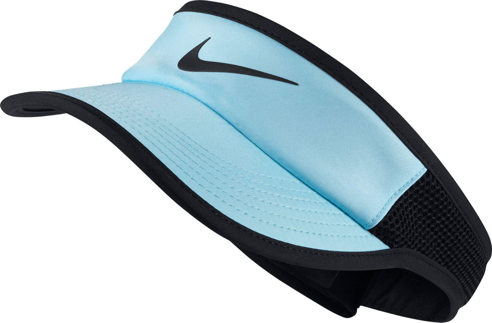 58d1d44f09c Lyst - Nike Court Featherlight Aerobill Tennis Visor in Black