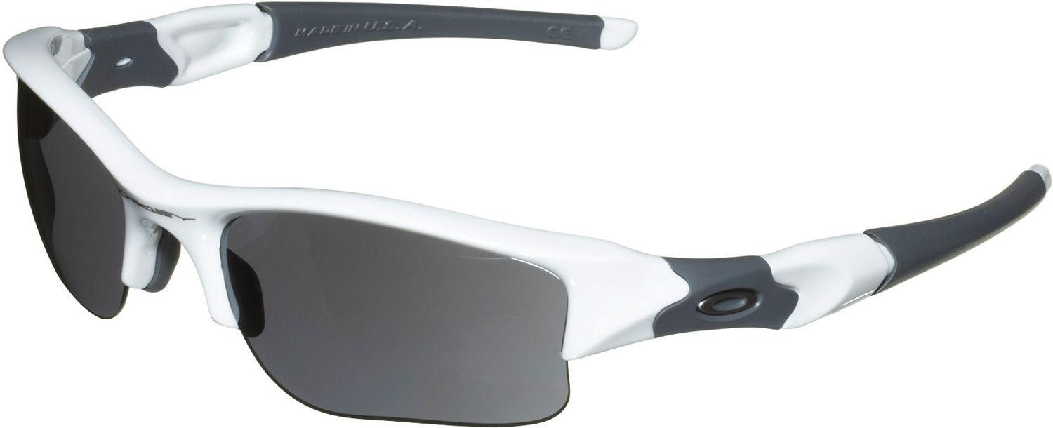 e830f614b1c8 Oakley Flak Jacket Xlj Sunglasses in White for Men - Lyst