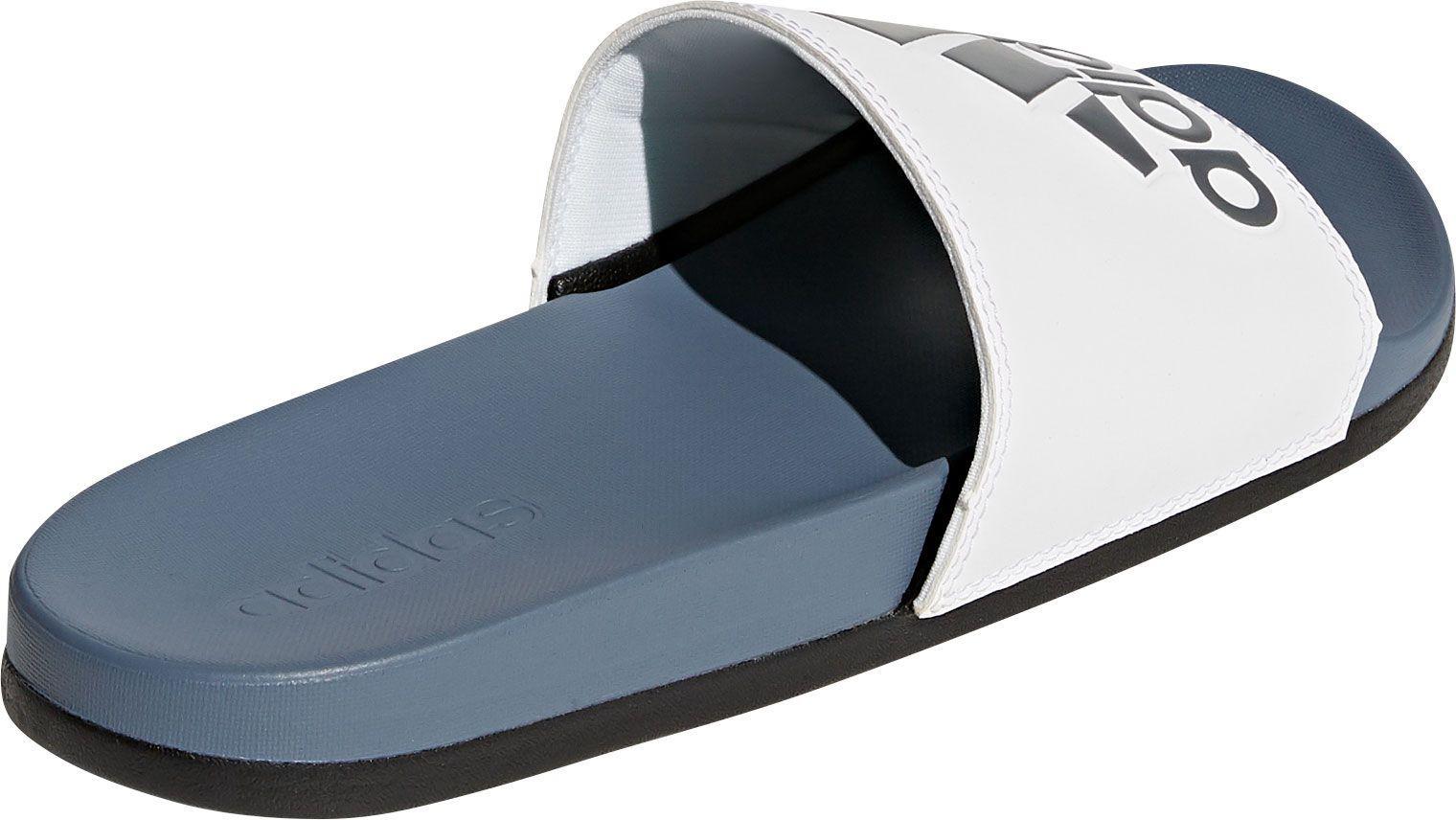 df239a0595f13 Lyst - adidas Adilette Cloudfoam Plus Slides in Blue for Men