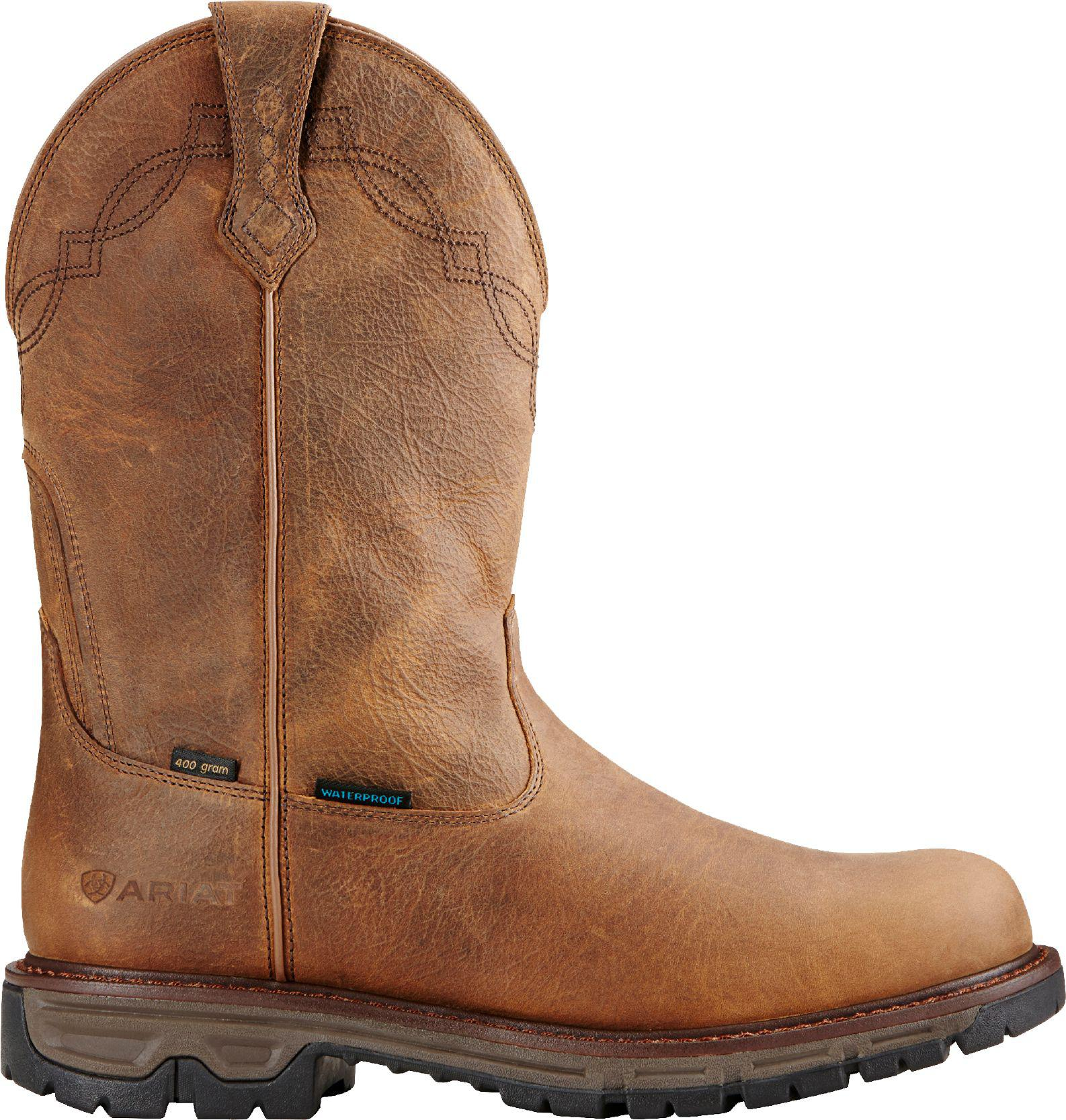 7f755cf0d3b Men's Brown Conquest 400g Waterproof Work Boots