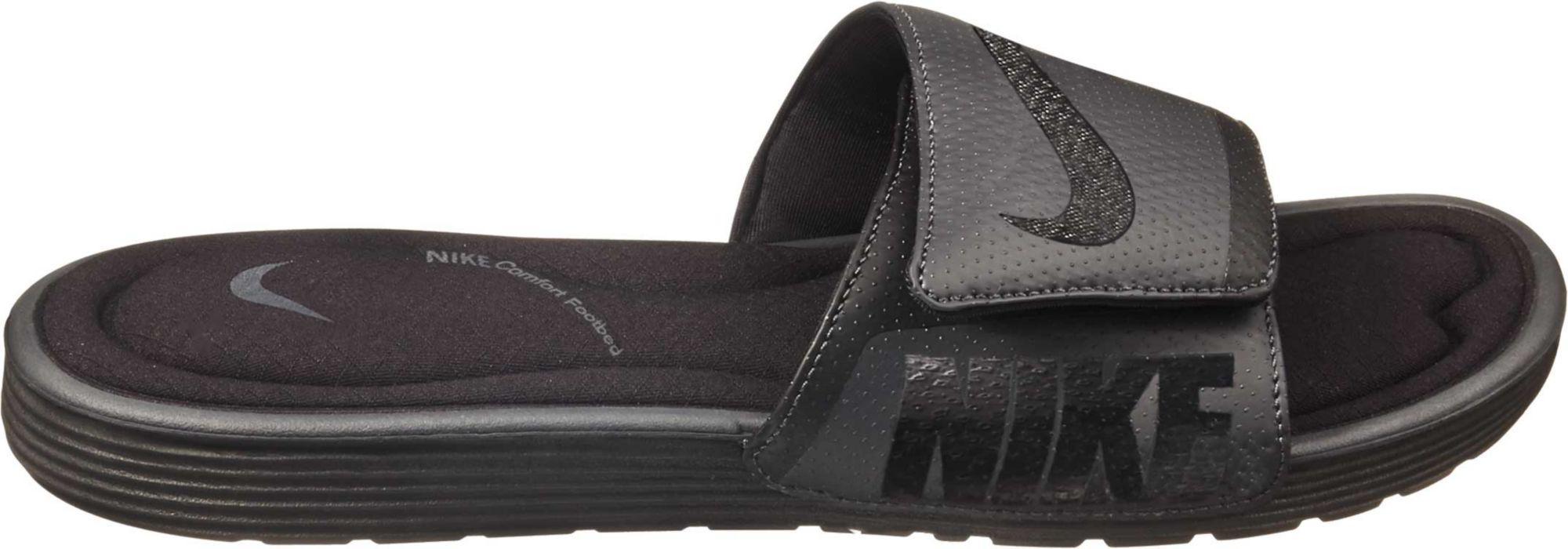 321f70cd4d07 Lyst - Nike Solarsoft Comfort Slides in Black for Men