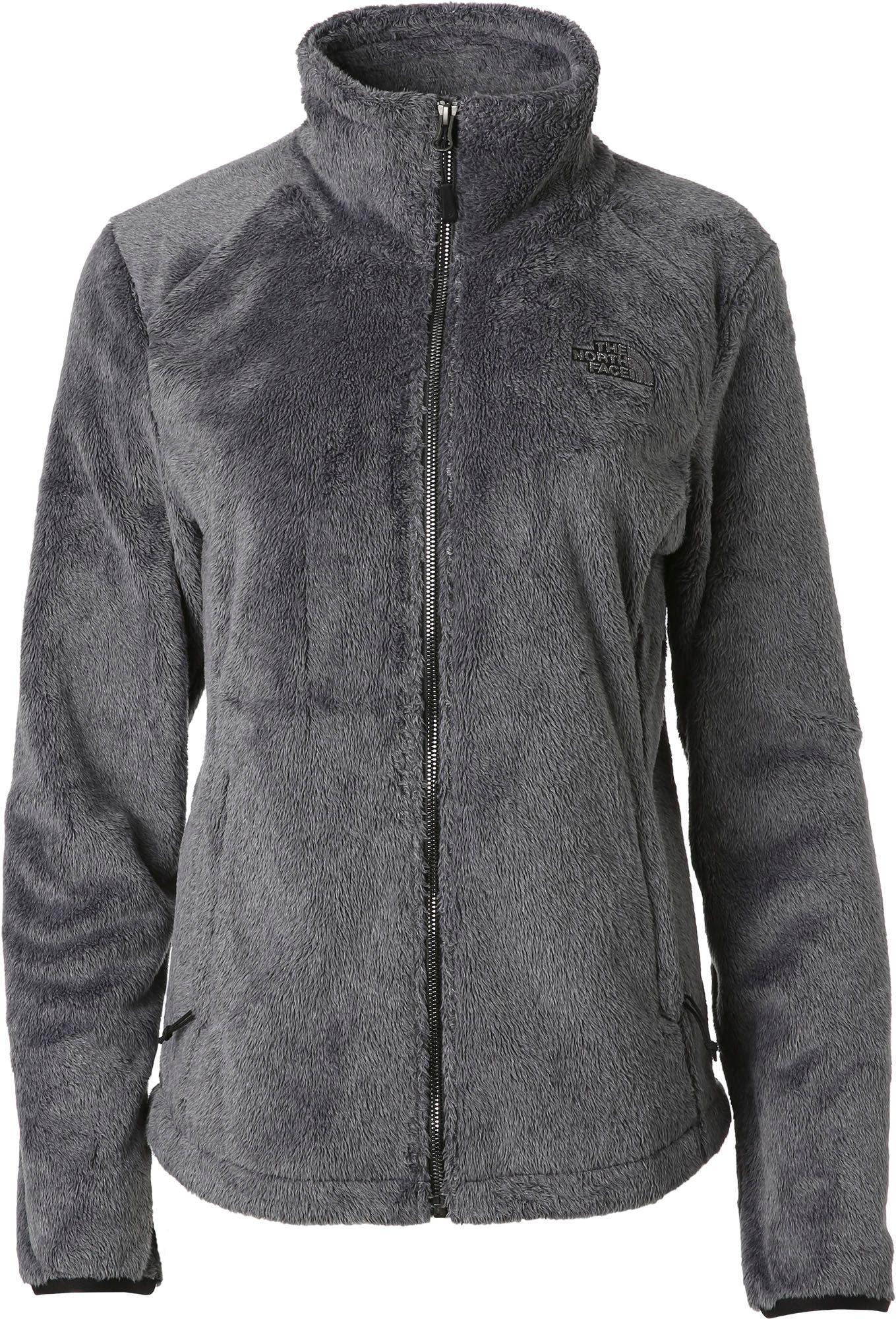 The north face osito 2 fleece jacket black