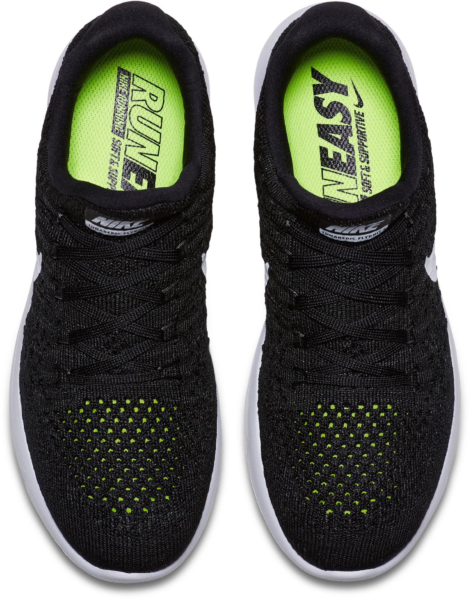 79f5725a671e Lyst - Nike Lunarepic Low Flyknit 2 Running Shoes in Black for Men