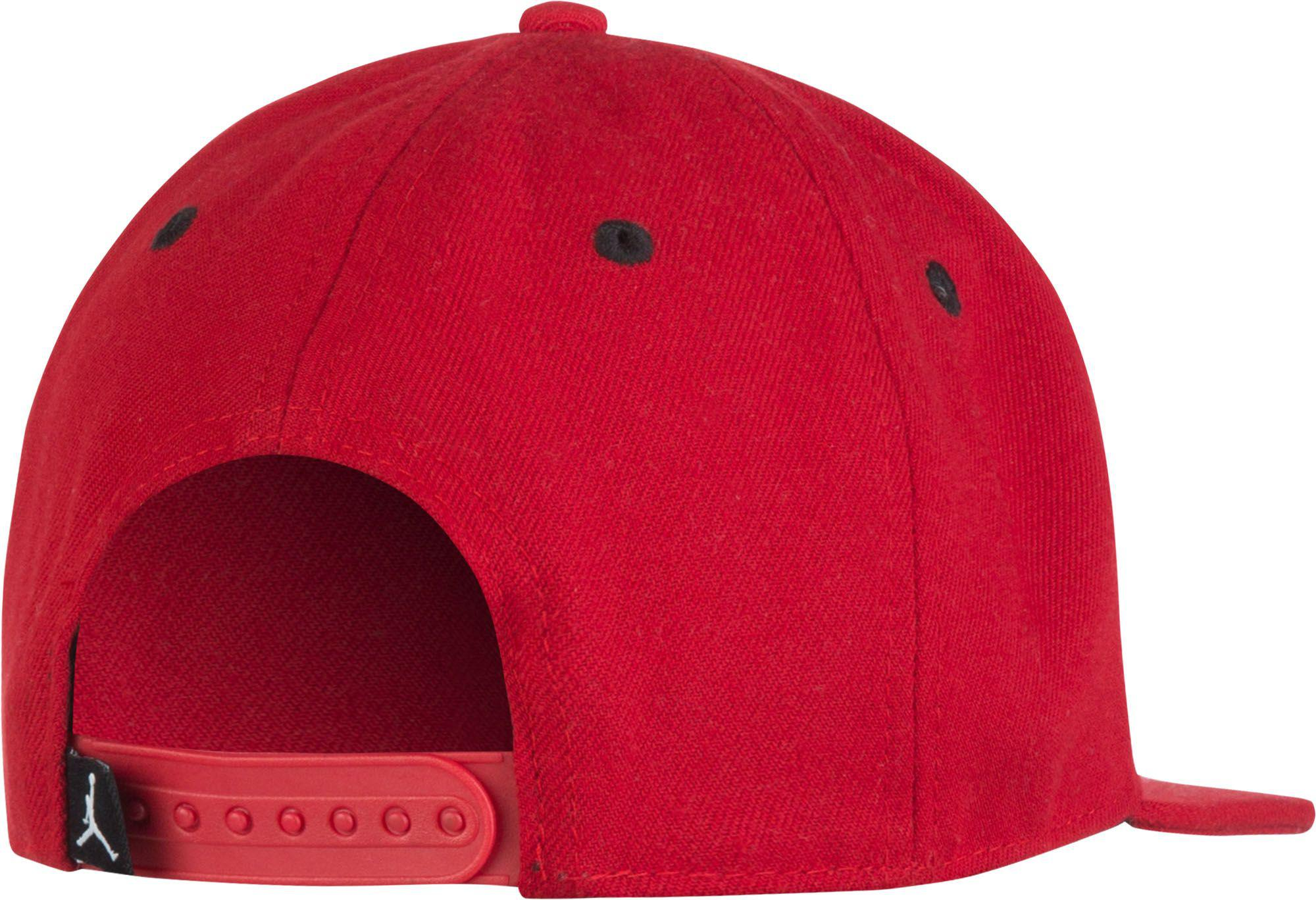 2a26a46a975 Nike - Red Oys  Jumpman Mesh Snapback Hat for Men - Lyst. View fullscreen