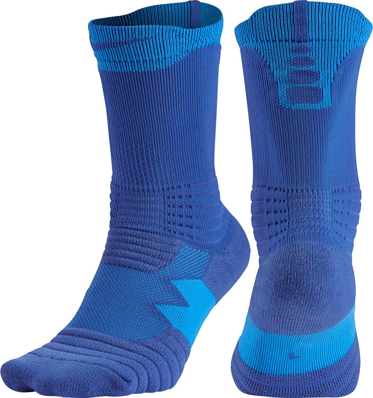 2c4d883ca02 Lyst - Nike Elite Versatility Crew Basketball Socks in Blue for Men