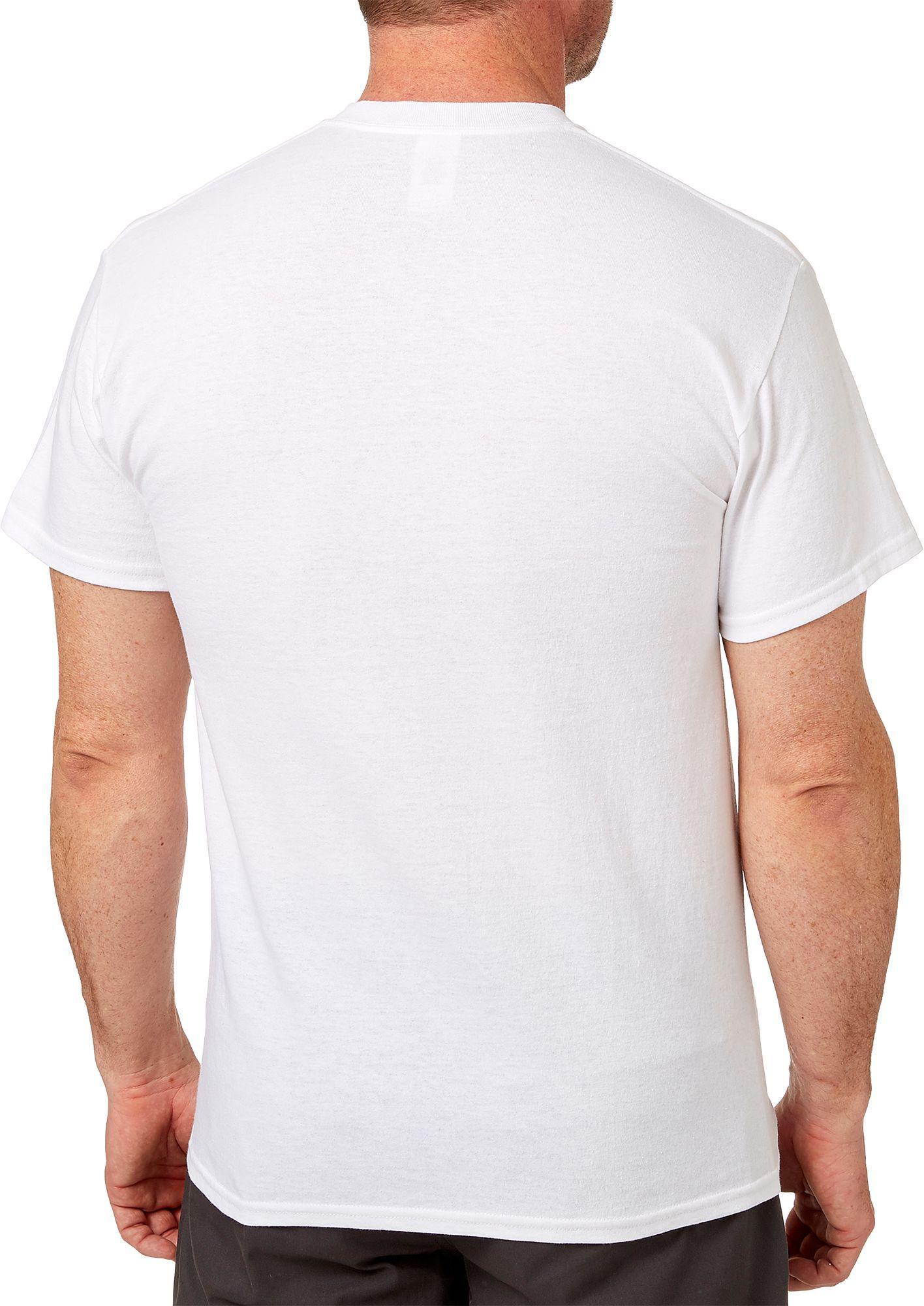 8298b71401 DICK'S Sporting Goods Short Sleeve Americana T-shirt in White for ...
