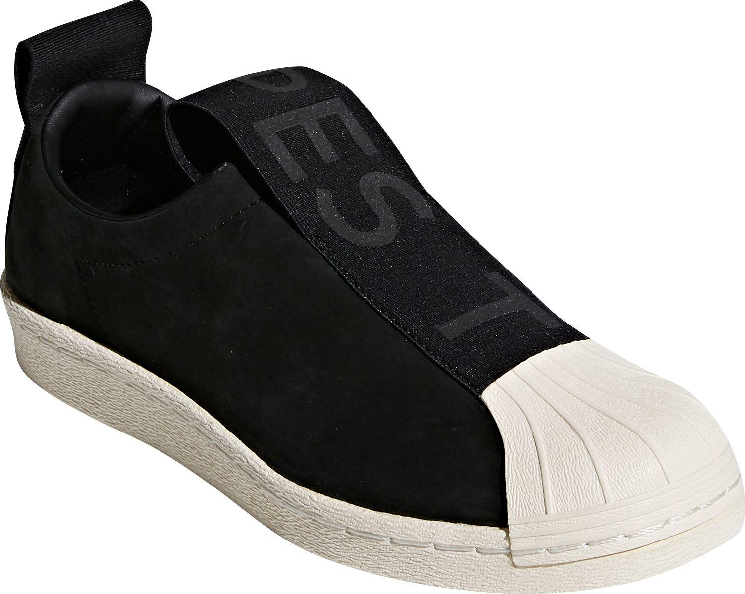a89b5d2b3 Lyst - adidas Originals Adidas Superstar Slip-on Shoes in Black
