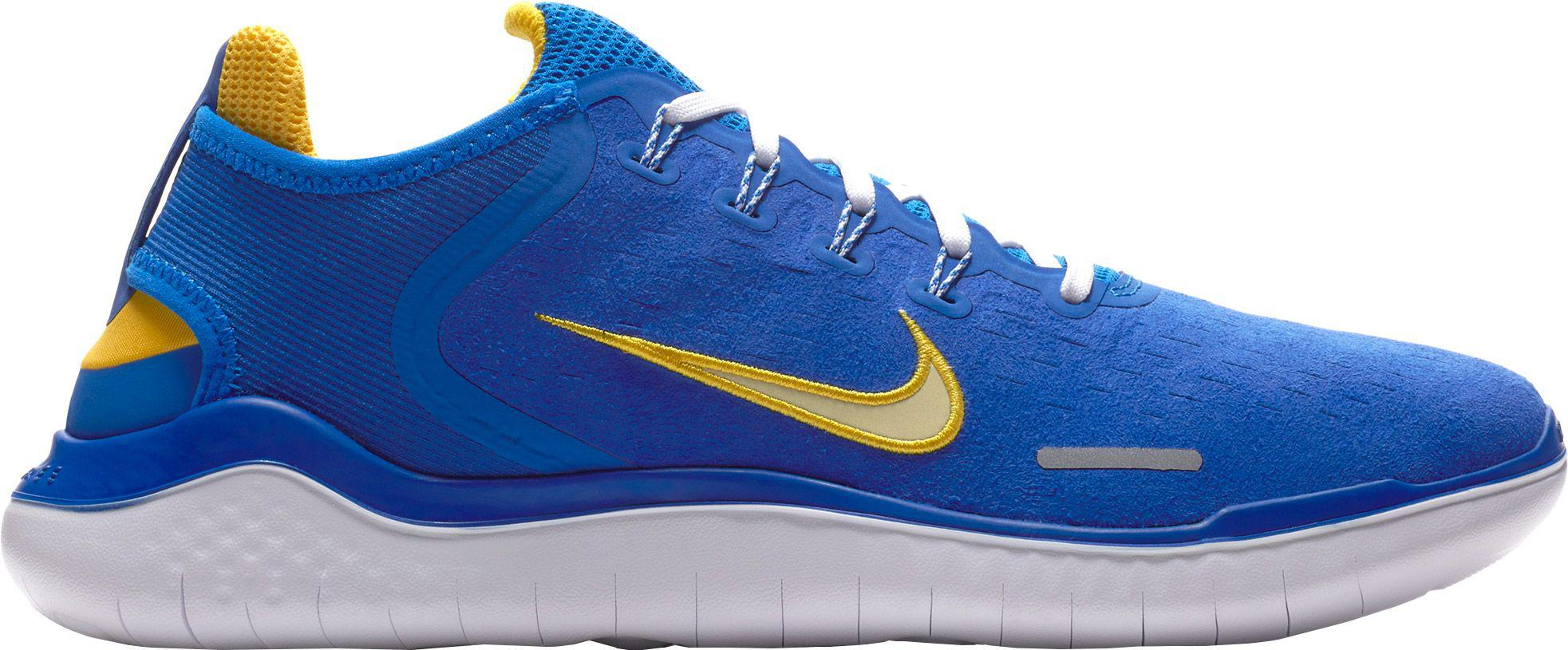 lowest price 303eb 398d9 ... norway lyst nike free rn 2018 hyper cobalt citron tint white mens b6b9a  6f3e7