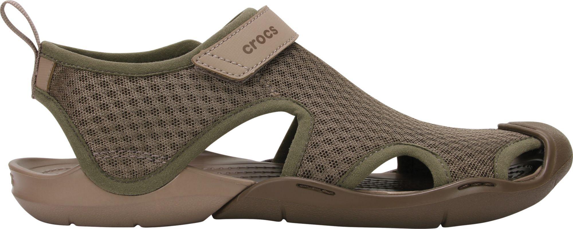 a6d96b99ab82b Crocs™ - Multicolor Swiftwater Mesh Sandals - Lyst