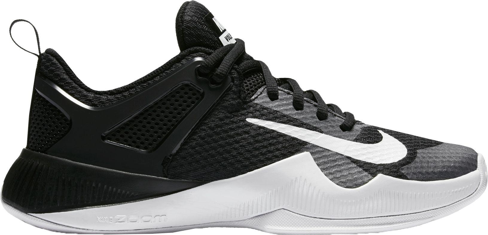 cheaper 7db55 34590 ... clearance nike black air zoom hyperace volleyball shoes lyst 97ecb 46a07