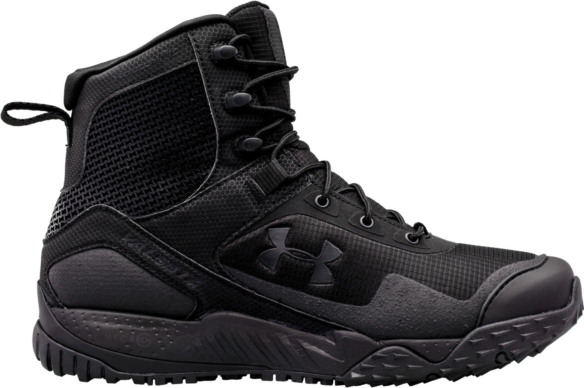 89052499a82 Lyst - Under Armour Valsetz Rts 7   Side Zip Tactical Boots in Black ...