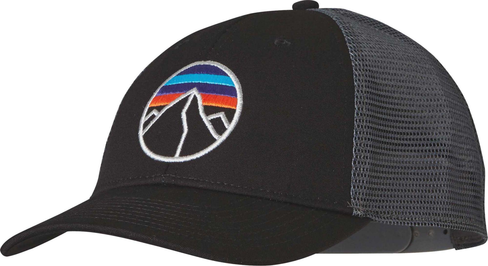 48a6b63bd Patagonia Fitz Roy Emblem Lopro Trucker Hat in Black for Men - Lyst