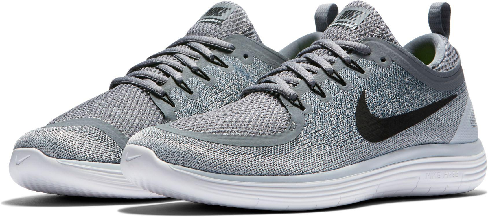 6b98a7017997 Lyst - Nike Free Rn Distance 2 Running Shoes in Gray for Men