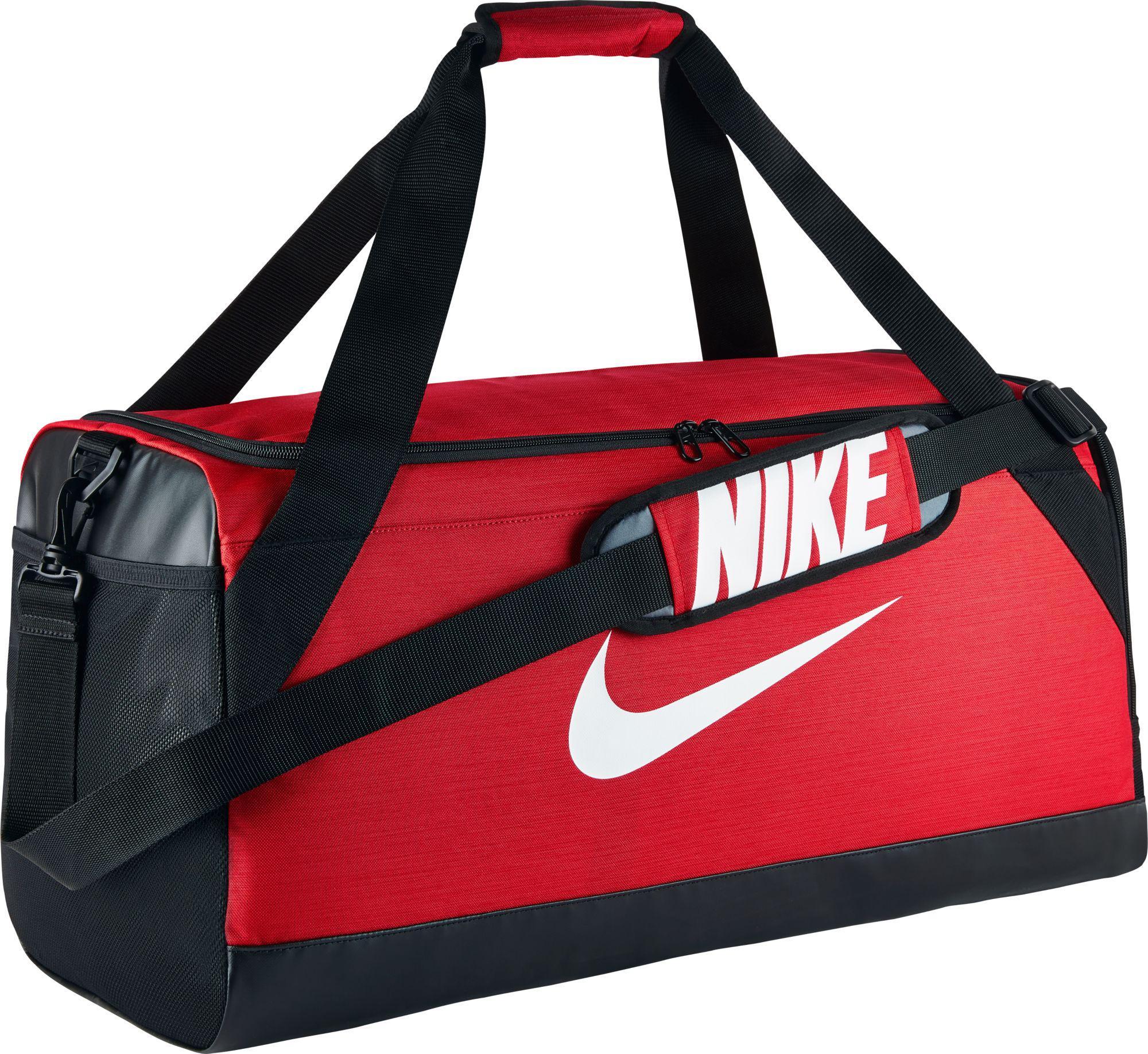 8b14cf2c0e66 Lyst - Nike Rasilia Medium Training Duffle Bag in Red for Men