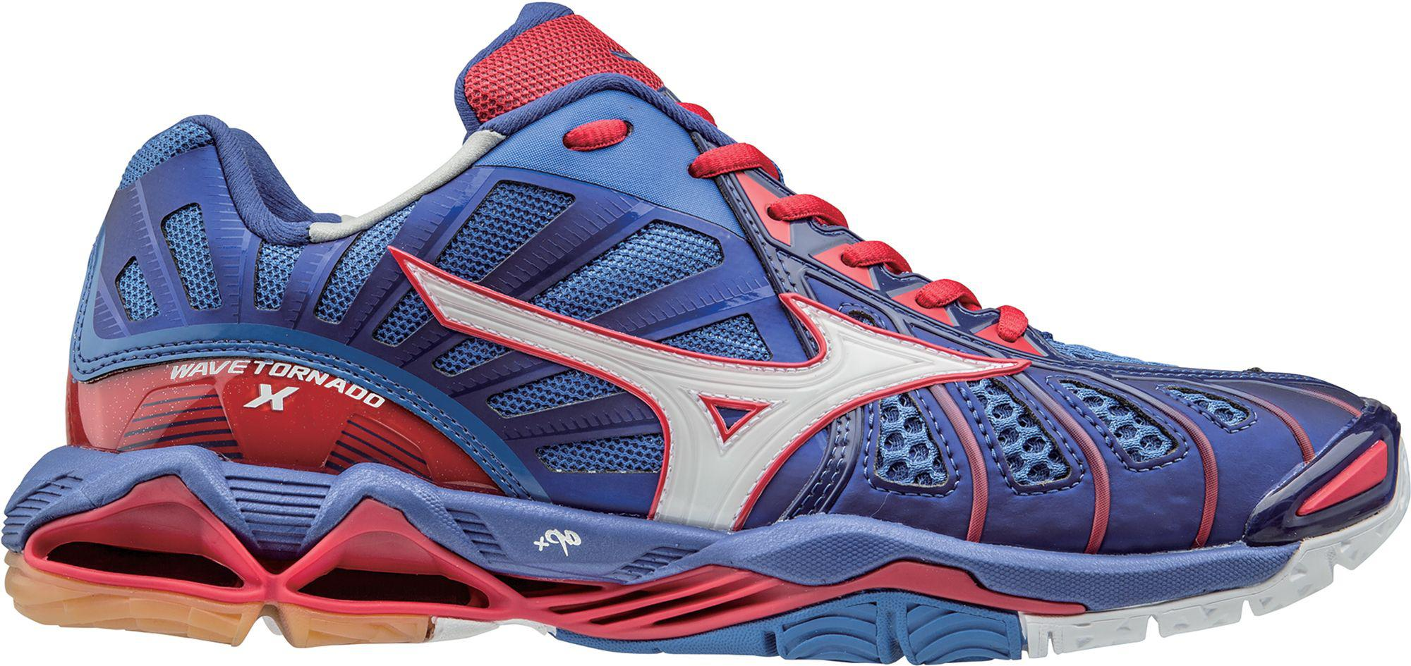 Lyst - Mizuno Wave Tornado X Volleyball Shoes in Blue for Men 573be4e320f