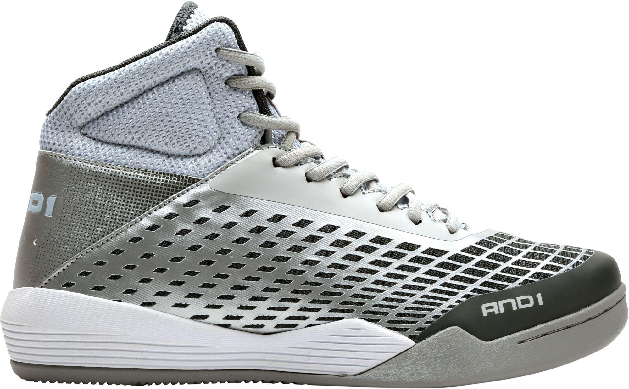 6c162aff524f AND1 Ascender Basketball Shoes in Gray for Men - Lyst
