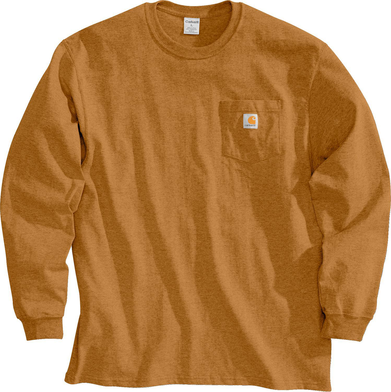 24f9f135a Lyst - Carhartt Workwear Long Sleeve Shirt in Brown for Men