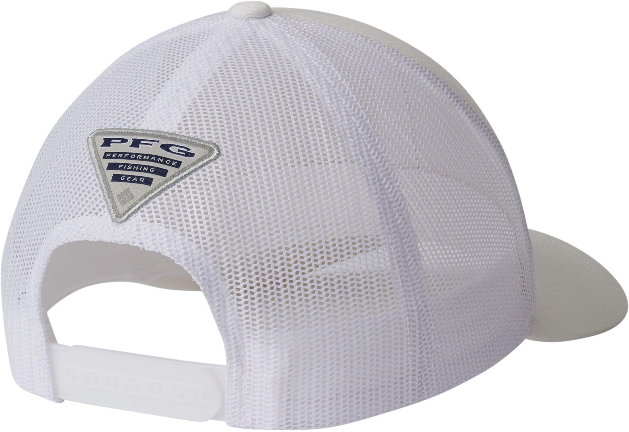 bdaaf4dd Columbia - White Pfg Mesh Snapback Fish Flag Hat for Men - Lyst. View  fullscreen