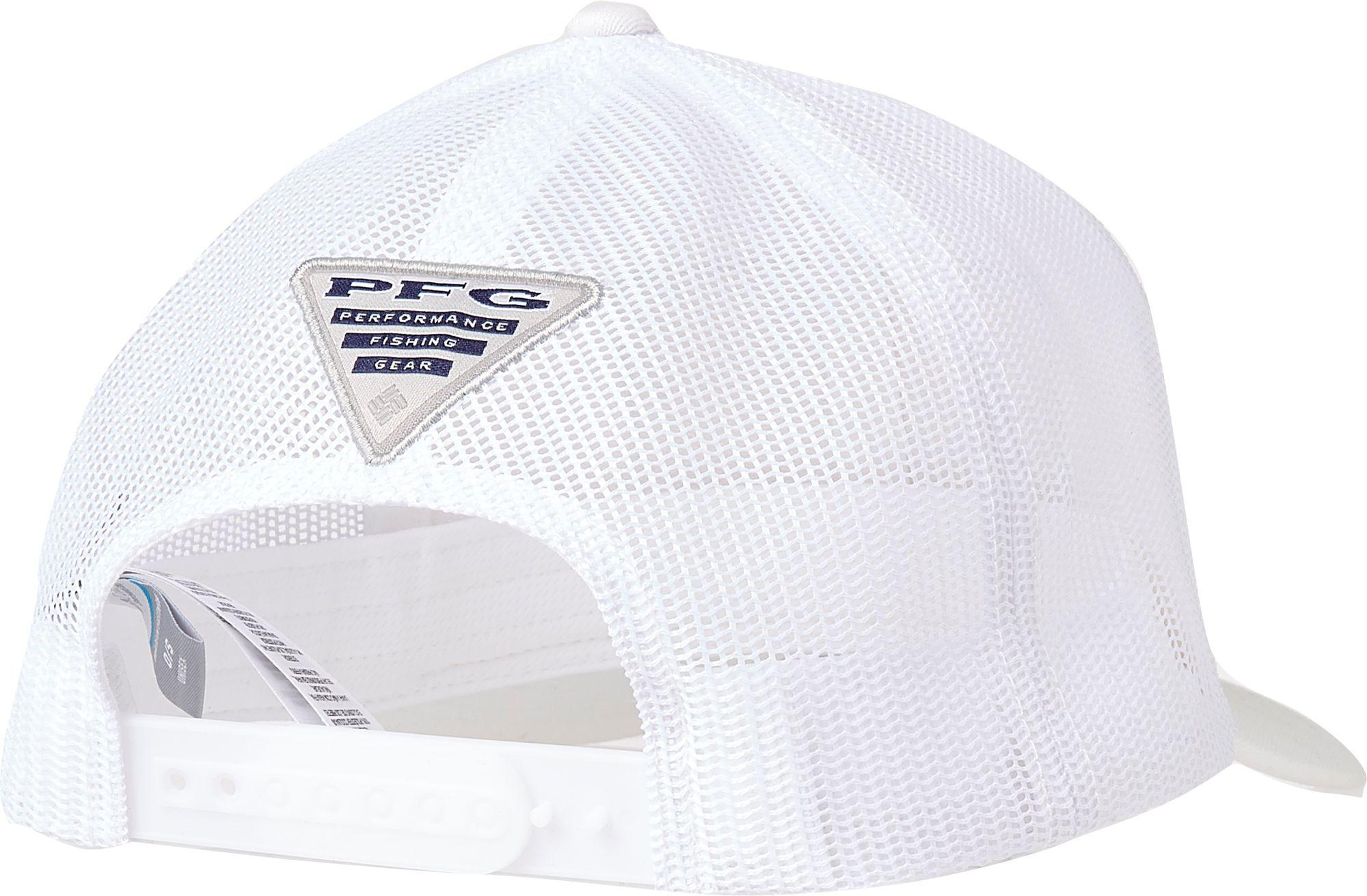 f1160ff6 Columbia Pfg Mesh Snap Back Cap in White for Men - Lyst