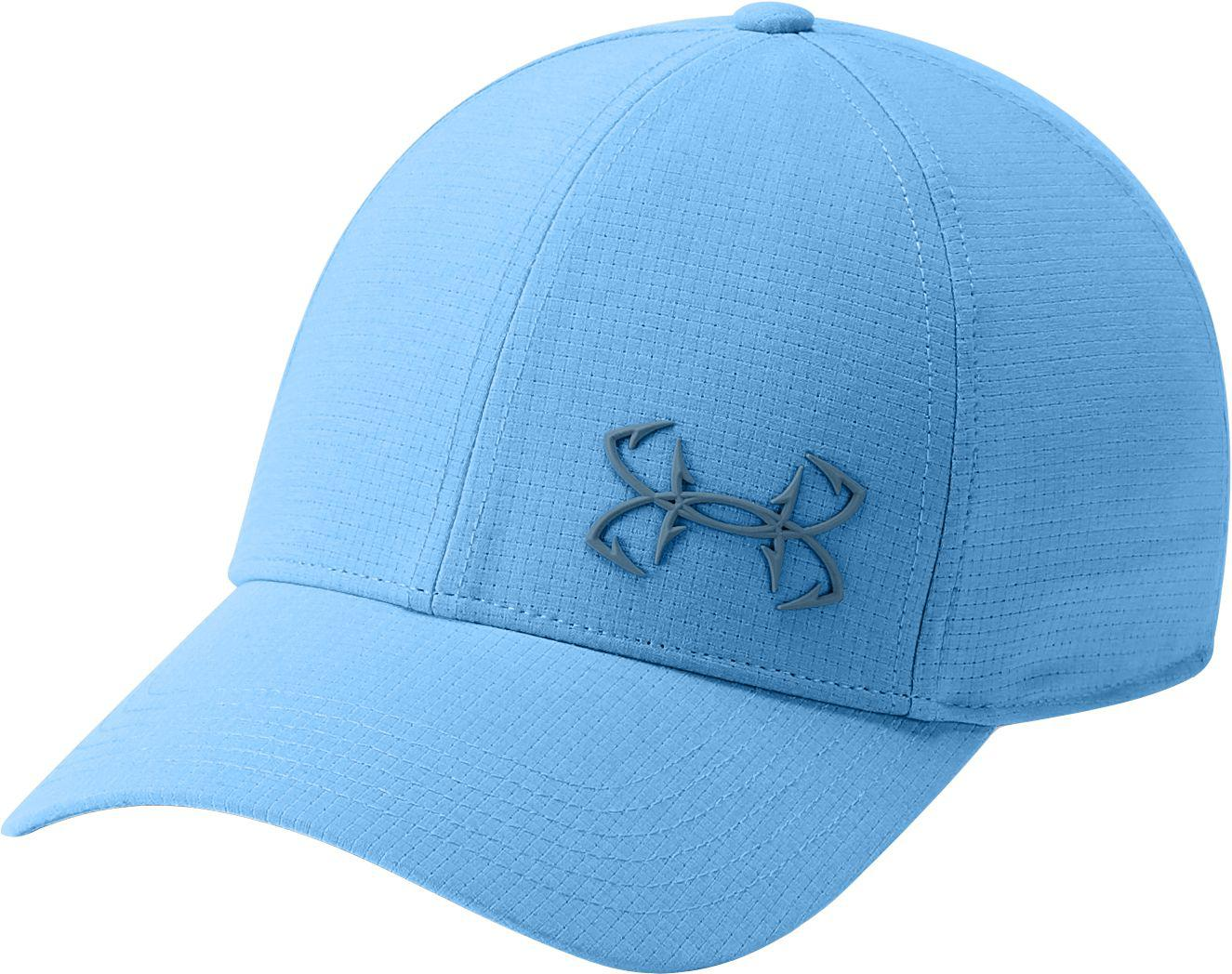 9f5807fc11e Under Armour - Blue Coolswitch Armourvent Fishing Hat for Men - Lyst. View  fullscreen