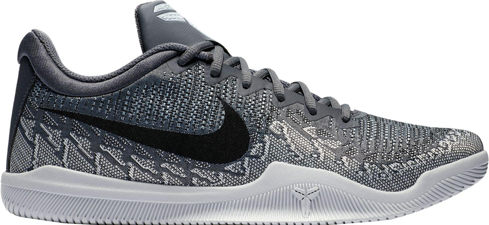 best sneakers 023c2 7eec6 Nike - Gray Kobe Mamba Rage Basketball Shoes for Men - Lyst