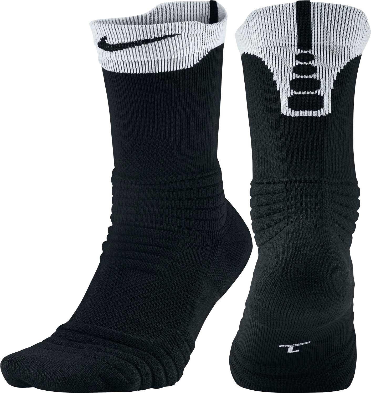 098b69c3f05 Lyst - Nike Elite Versatility Crew Basketball Socks in Black for Men