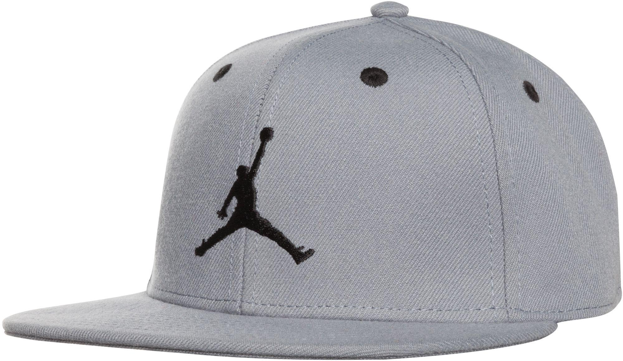 fc0a862f7f74e Lyst - Nike Oys  Jumpman Snapback Hat in Gray for Men