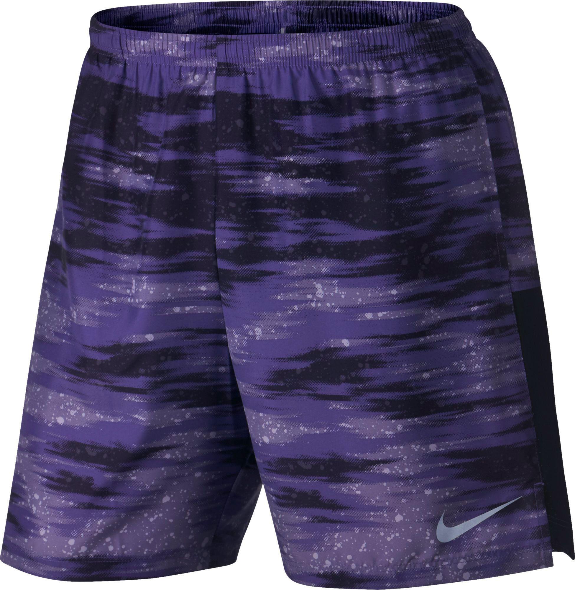 bajo costo descuento cómoda Nike Para Hombre 7 Secos Impresa Cortos Retador De Funcionamiento envío libre confiable gomZgDc1