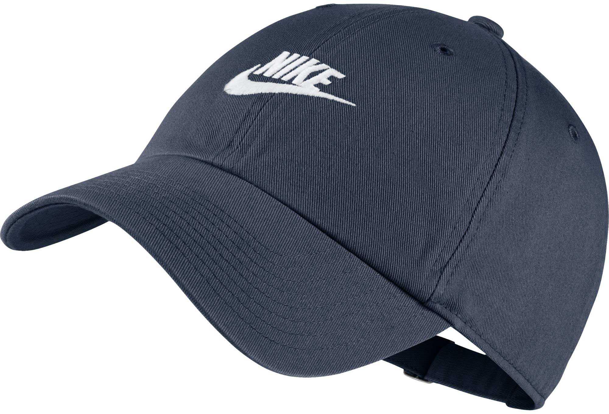 d23a3f98079 Lyst - Nike Sportswear H86 Cotton Twill Adjustable Hat in Blue for Men