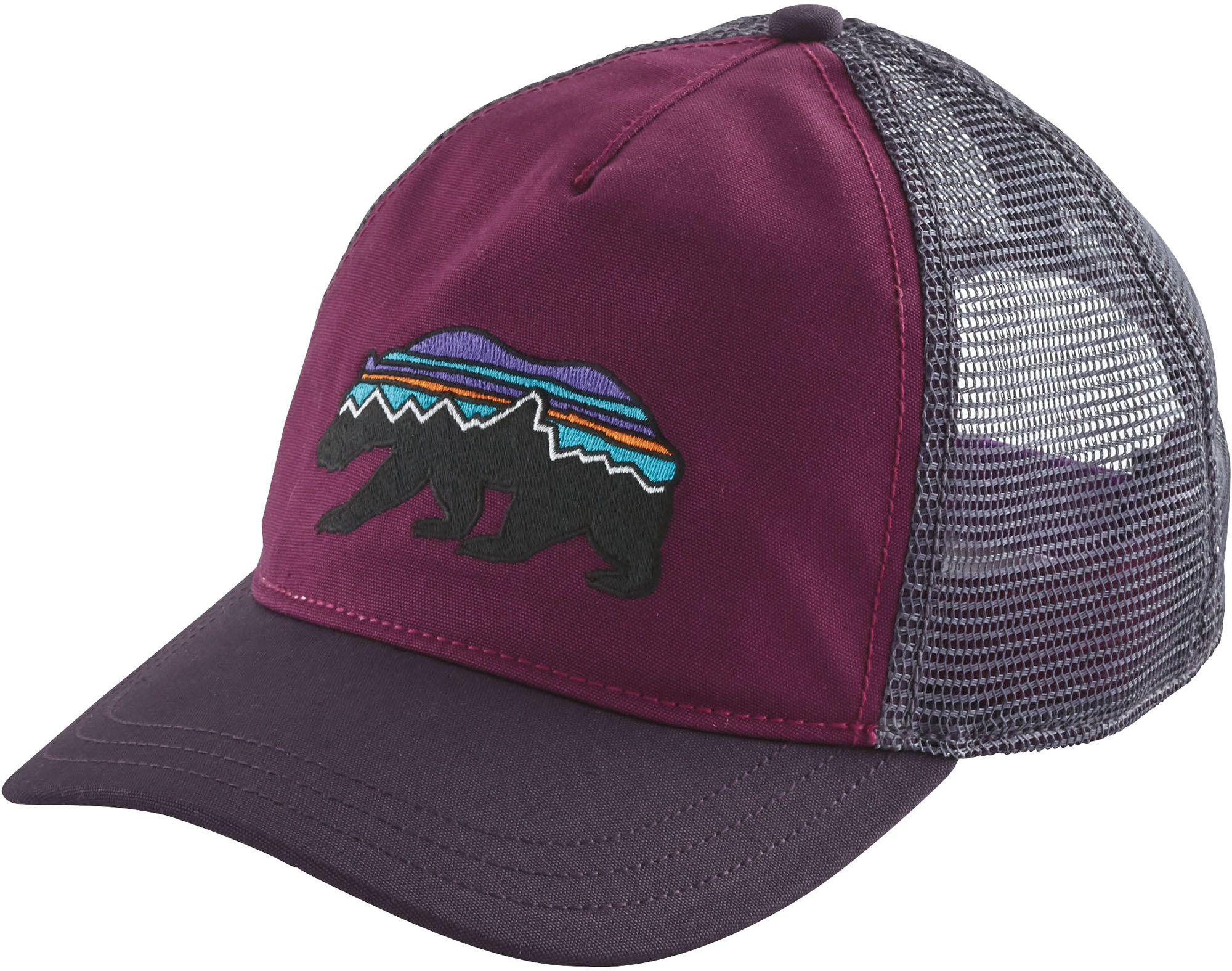 9449642f934 Lyst - Patagonia Fitz Roy Bear Trucker Hat in Purple