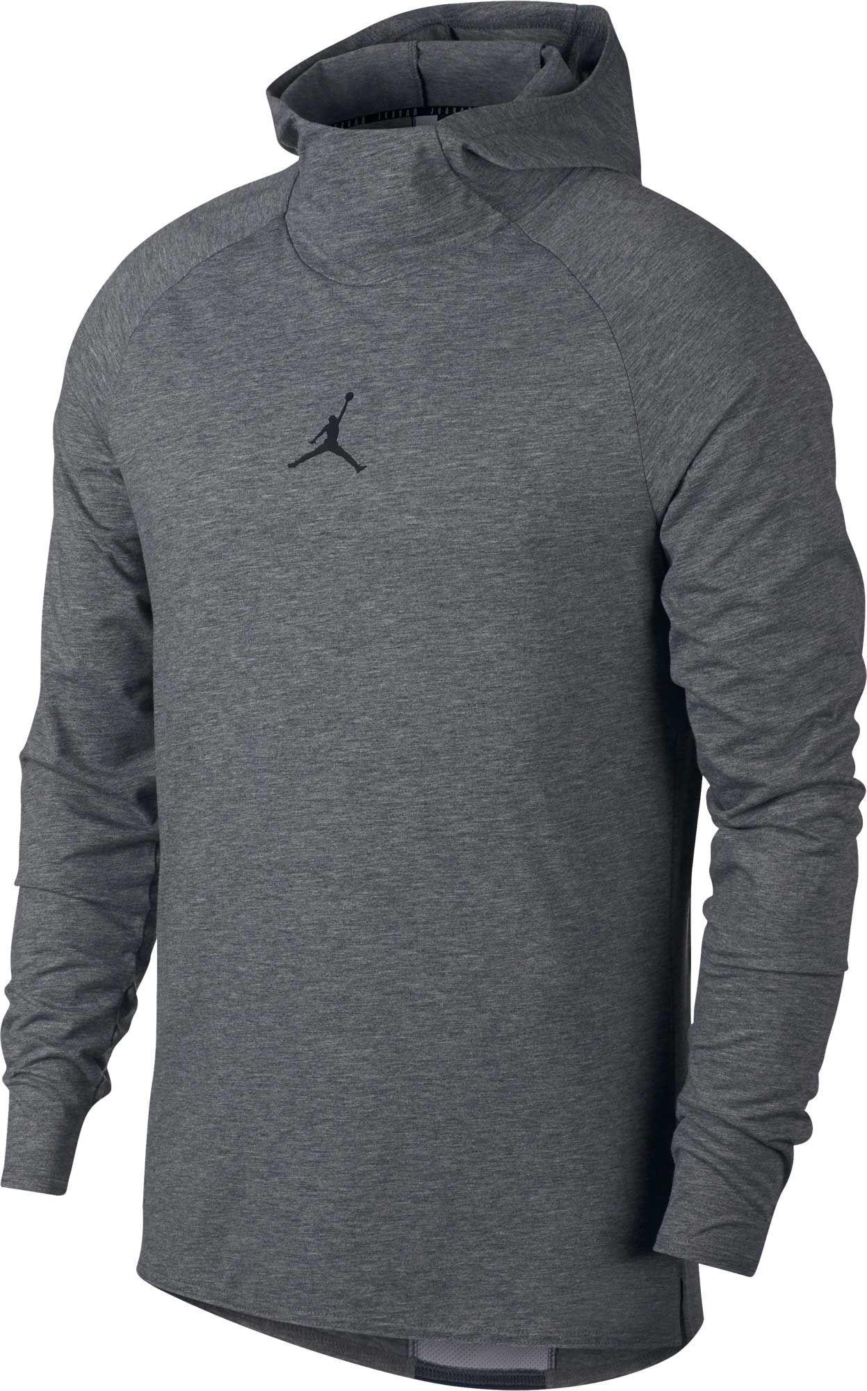 6420b9ac Nike Dry 23 Alpha Training Hooded Long Sleeve Shirt in Gray for Men ...