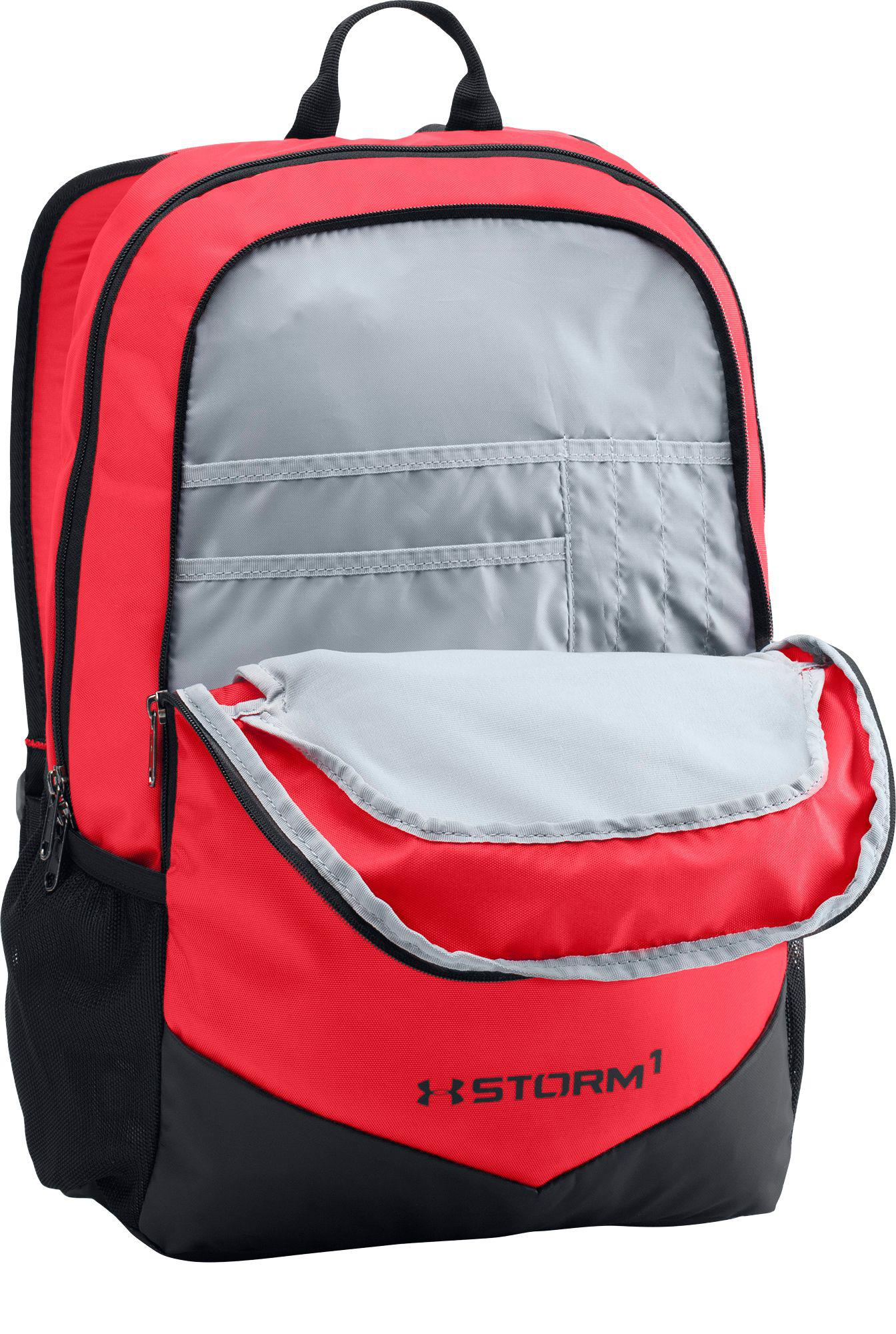 54ab25e228 Lyst - Under Armour Youth Scrimmage Backpack in Red